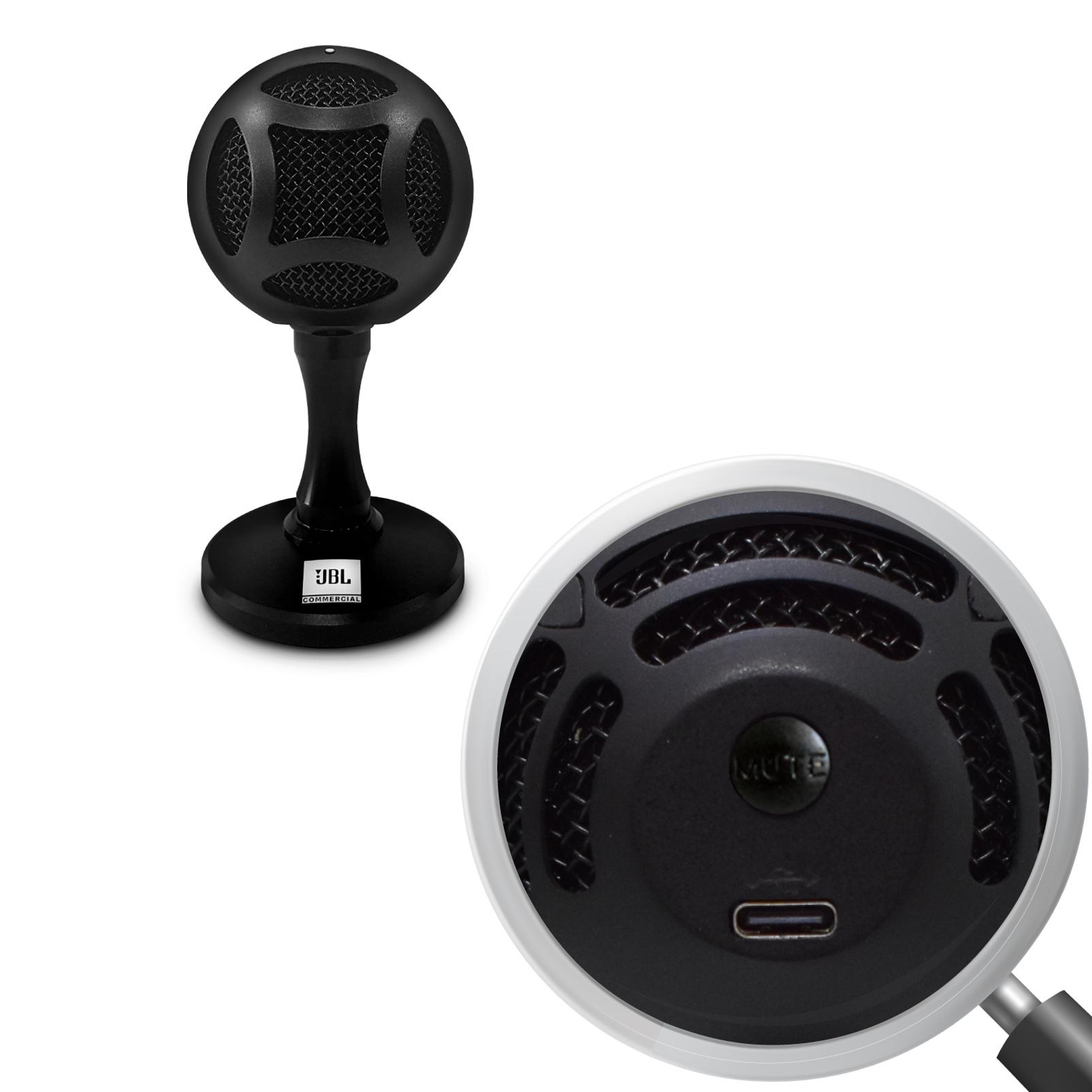 WFH100 - Black - USB powered speakers and Mini USB Microphone Bundle - Detailshot 5