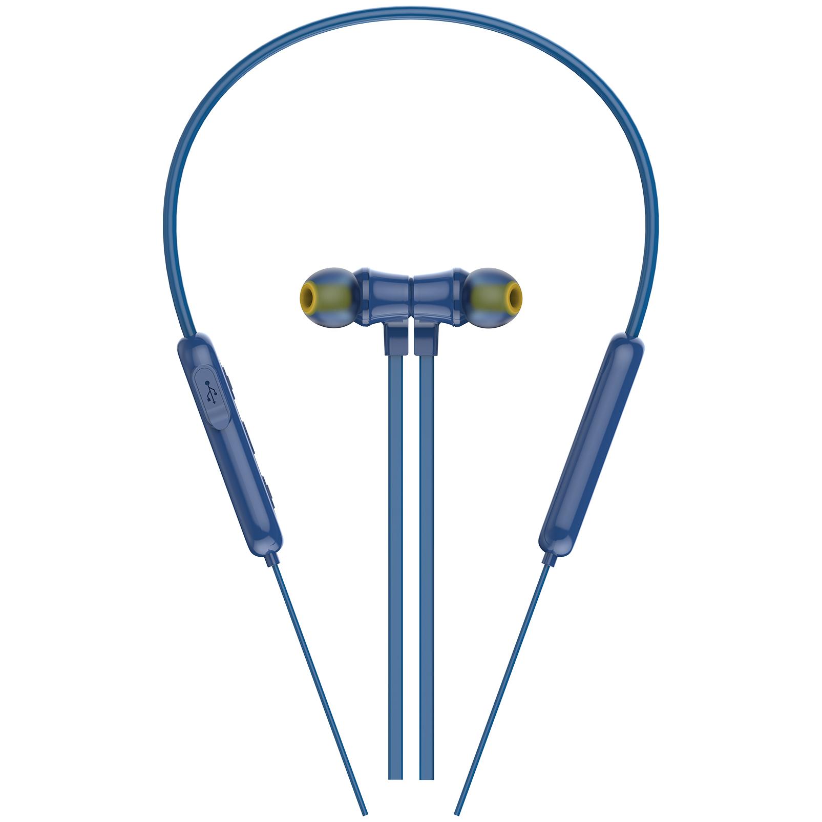 INFINITY GLIDE N100 - Blue - In-Ear Ultra Light Neckband - Detailshot 1