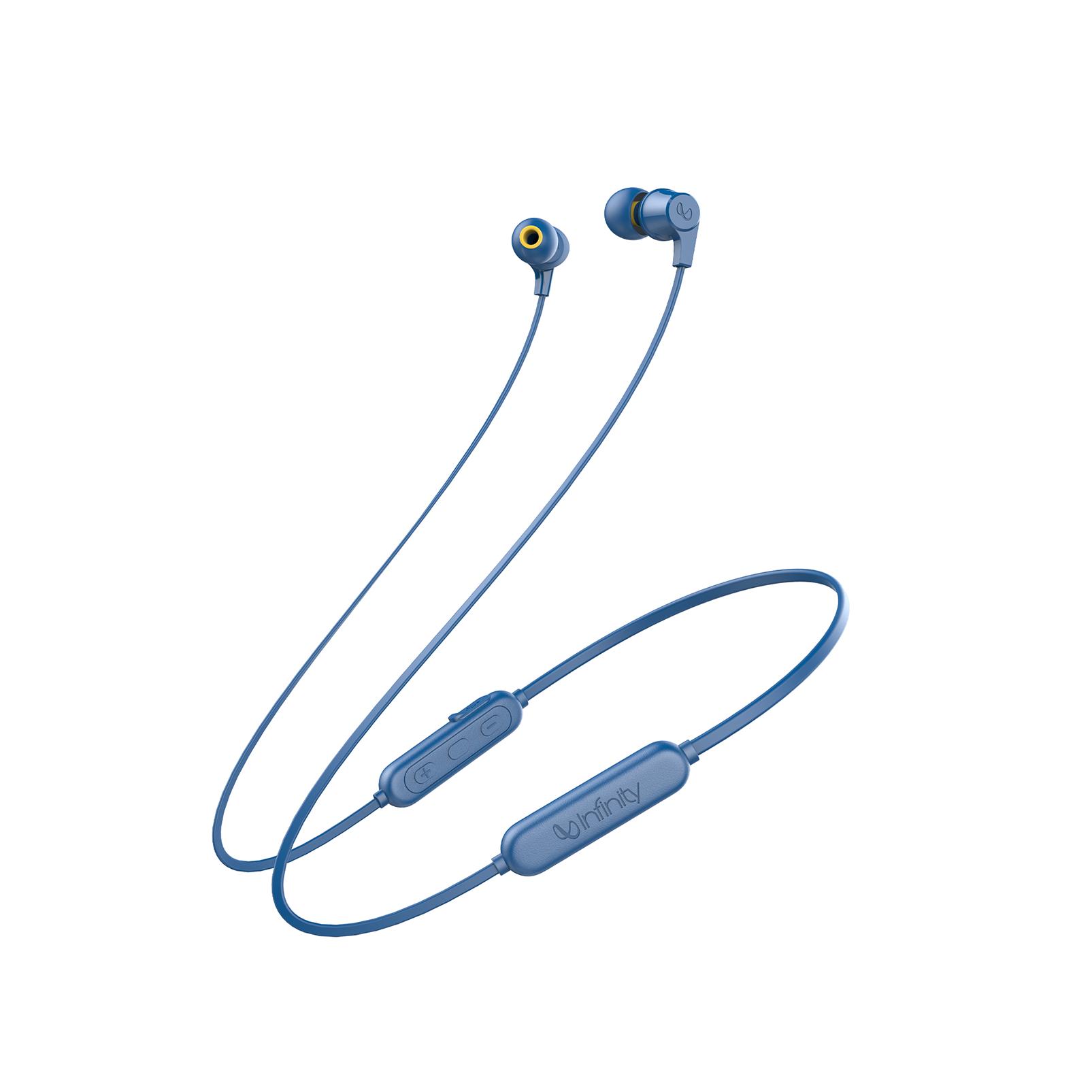 INFINITY GLIDE 105 - Blue - In-Ear Wireless Headphones - Hero