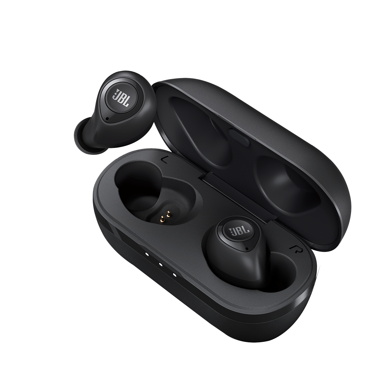 JBL C100TWS - Black - True wireless in-ear headphones. - Detailshot 2