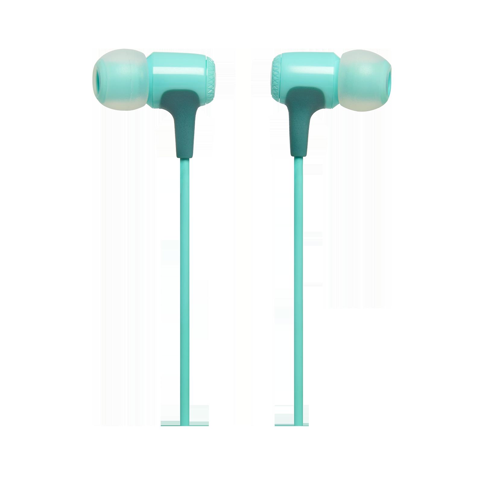 E15 - Teal - In-ear headphones - Detailshot 1