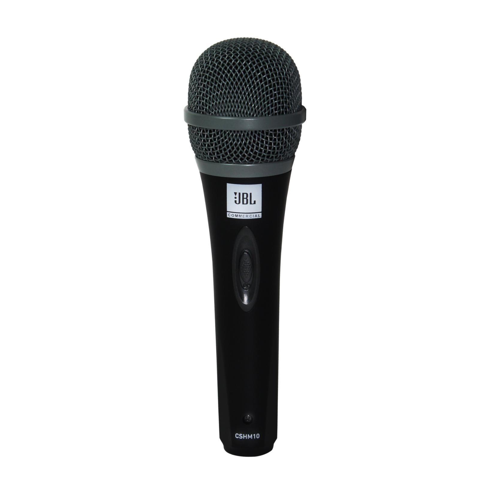 JBLCSHM10 - Black - Handheld Dynamic Vocal Microphone - Hero