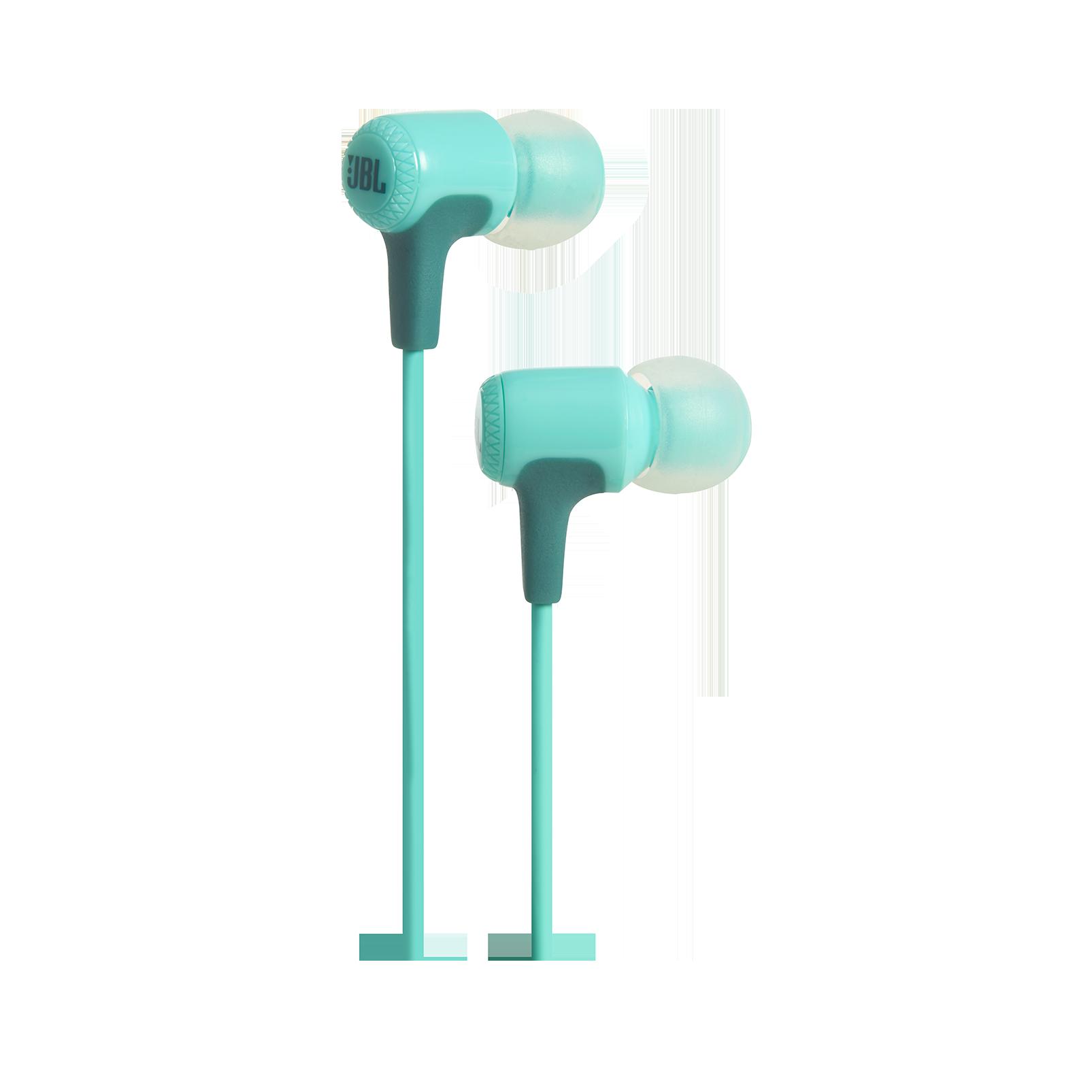 E15 - Teal - In-ear headphones - Hero