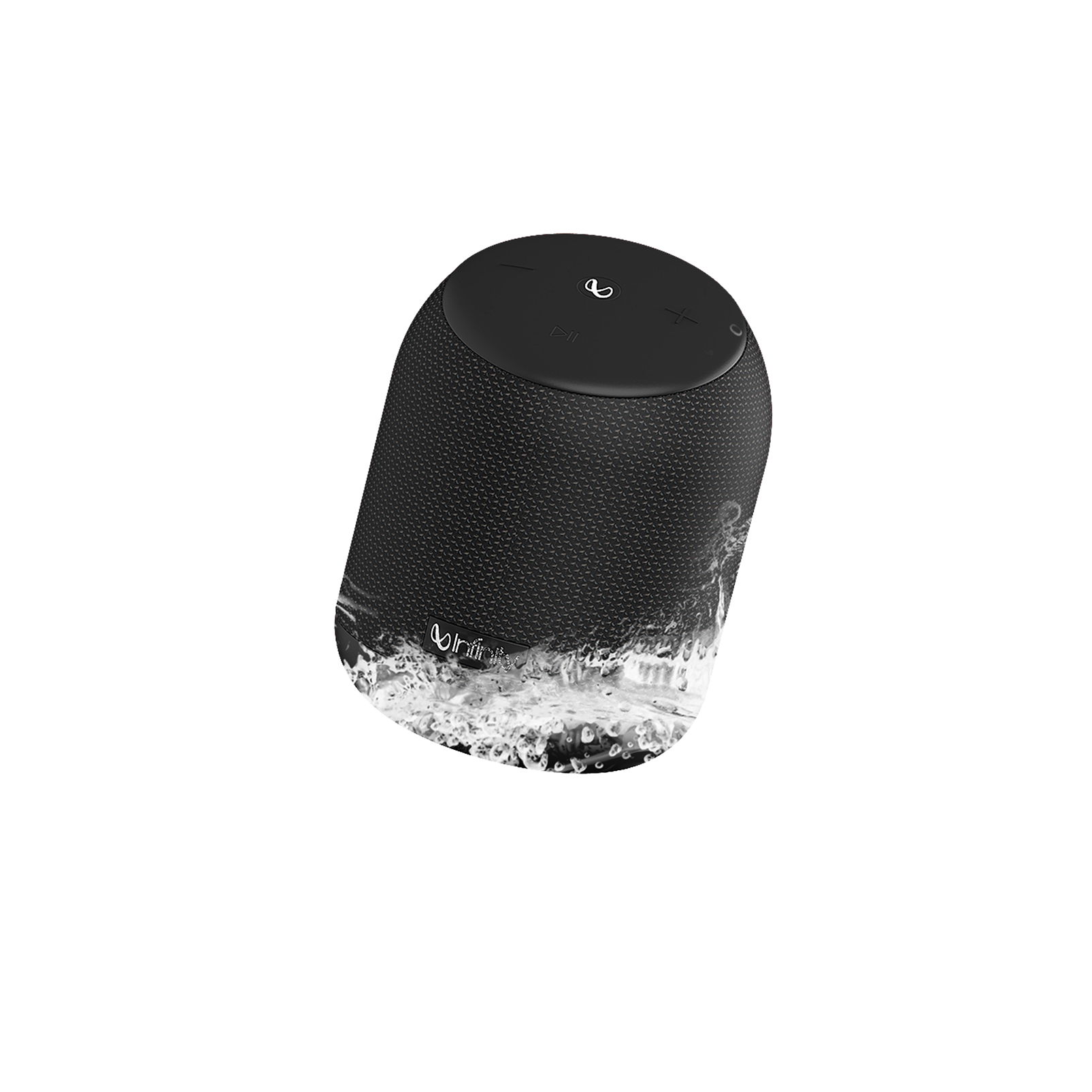 INFINITY FUZE 200 - Black - Portable Wireless Speakers - Hero