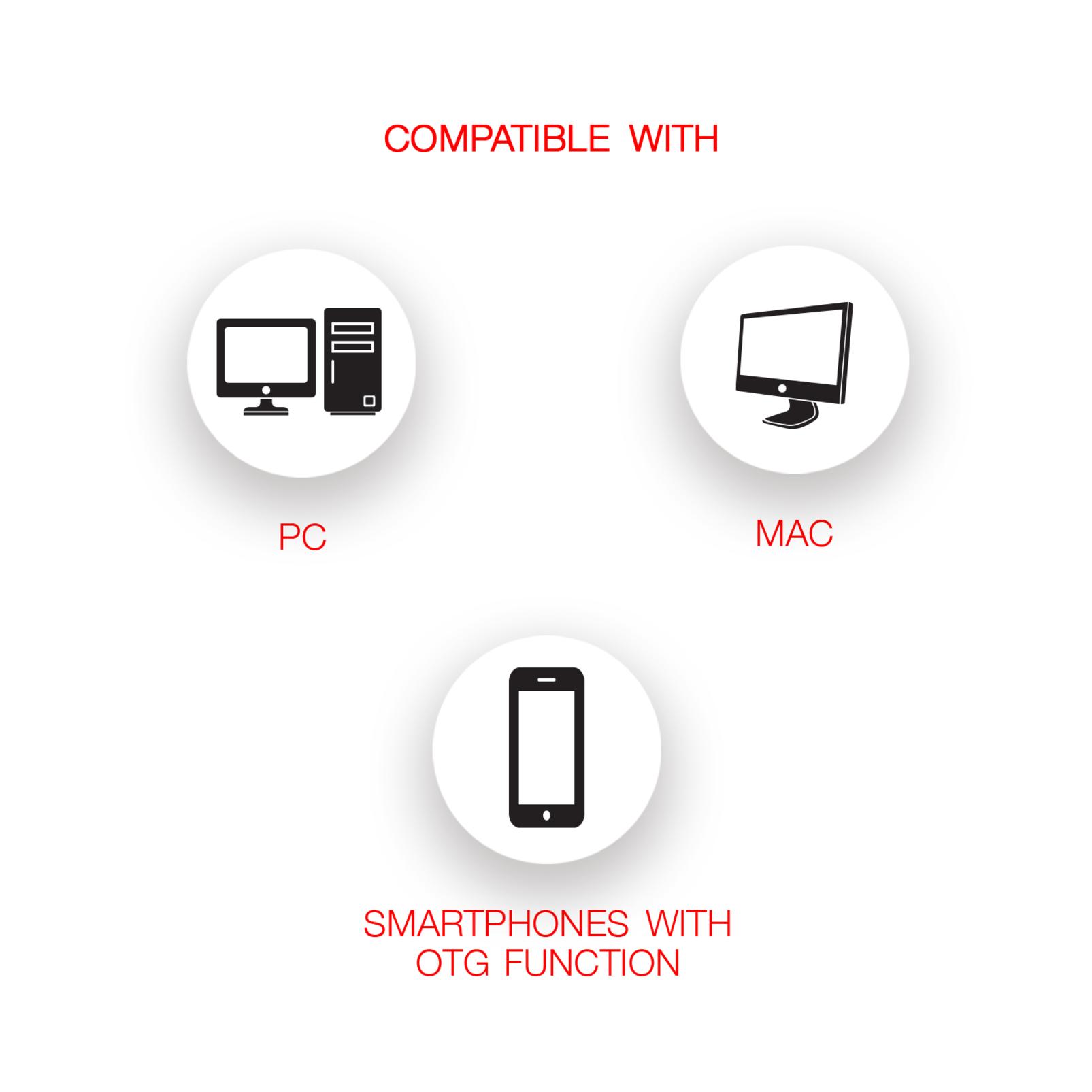 CSUM06 - Black - Mini USB Microphone - Detailshot 3