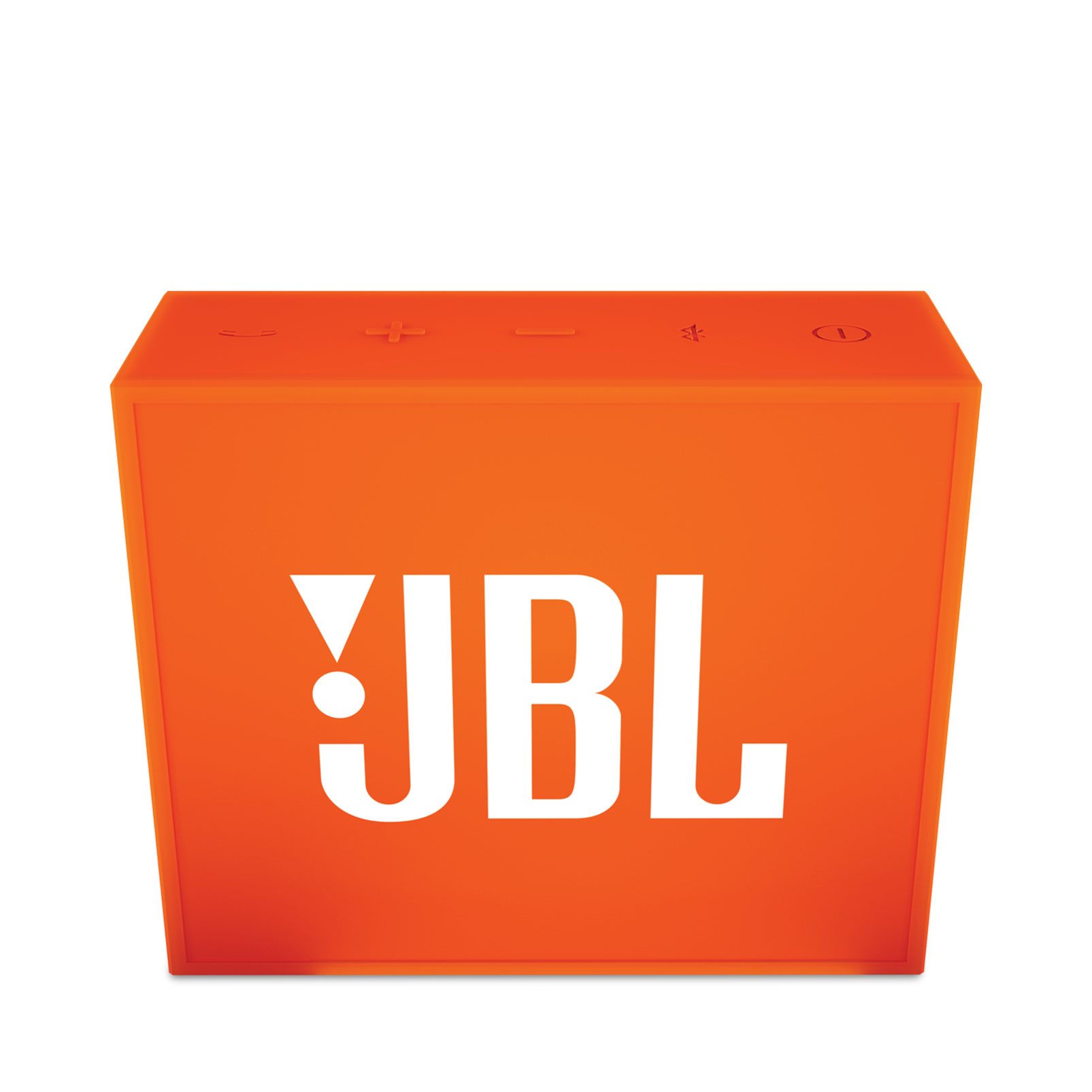 JBL GO - Orange - Full-featured, great-sounding, great-value portable speaker - Front