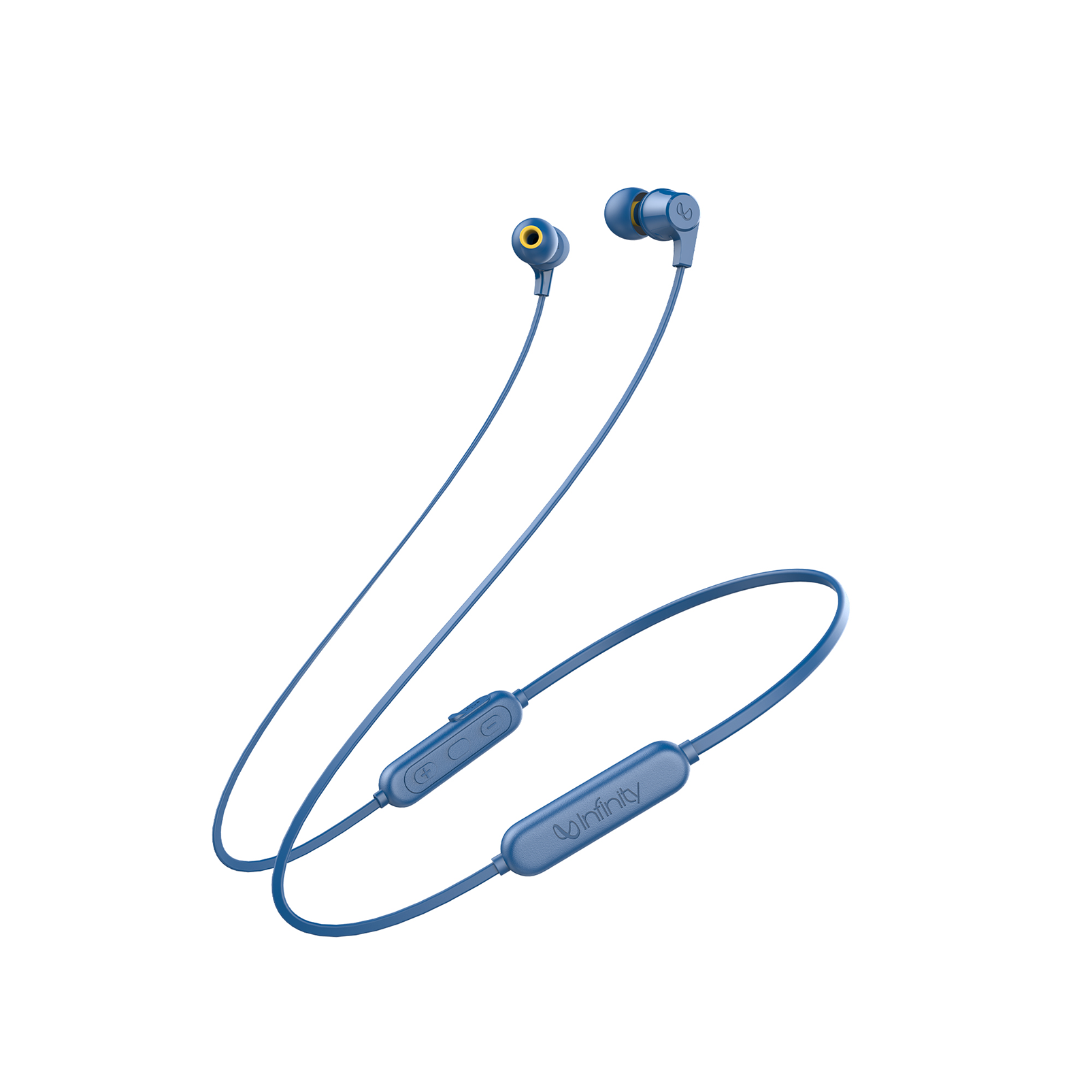 INFINITY GLIDE 100 - Blue - In-Ear Wireless Headphones - Hero