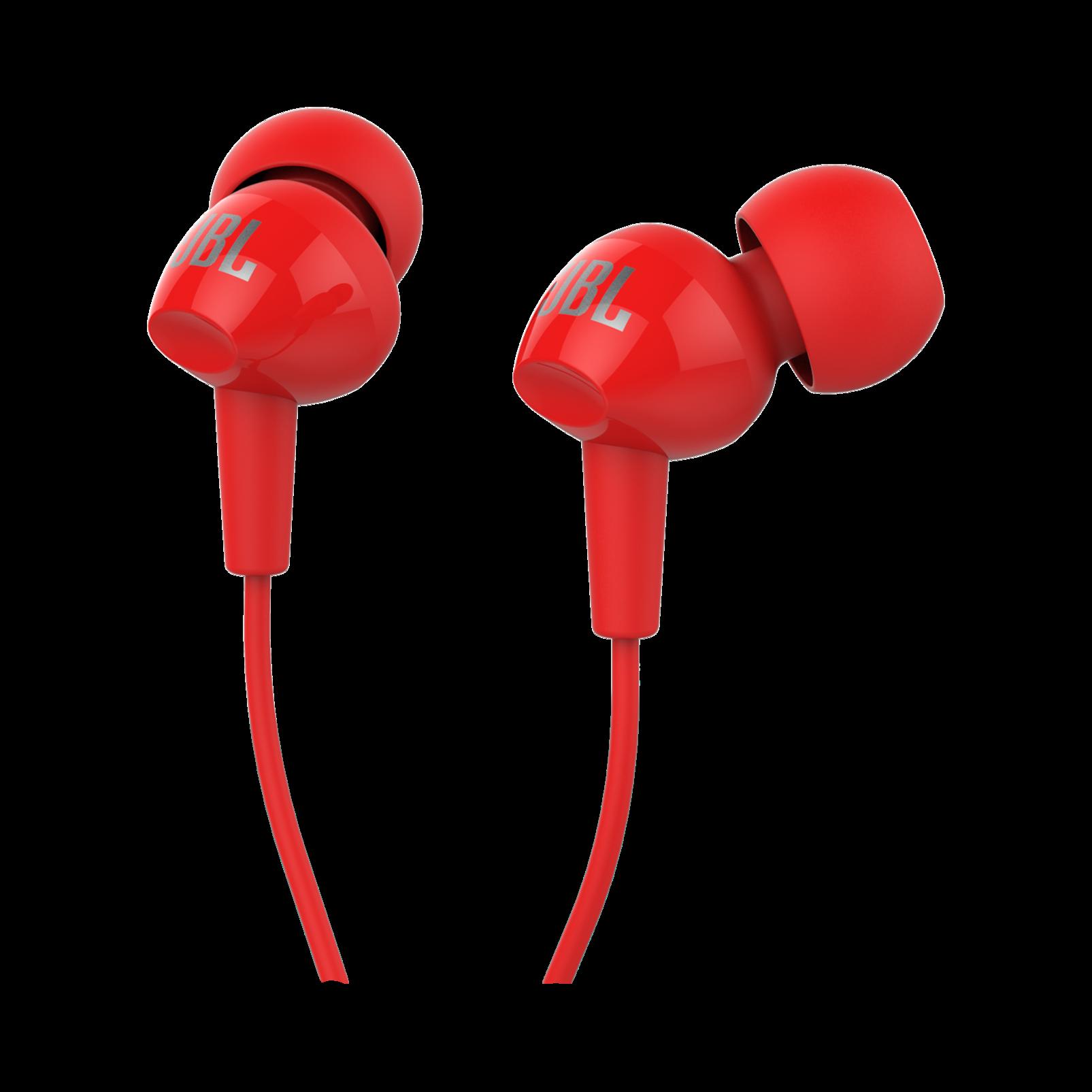 C100SI - Red - In-Ear Headphones - Detailshot 2