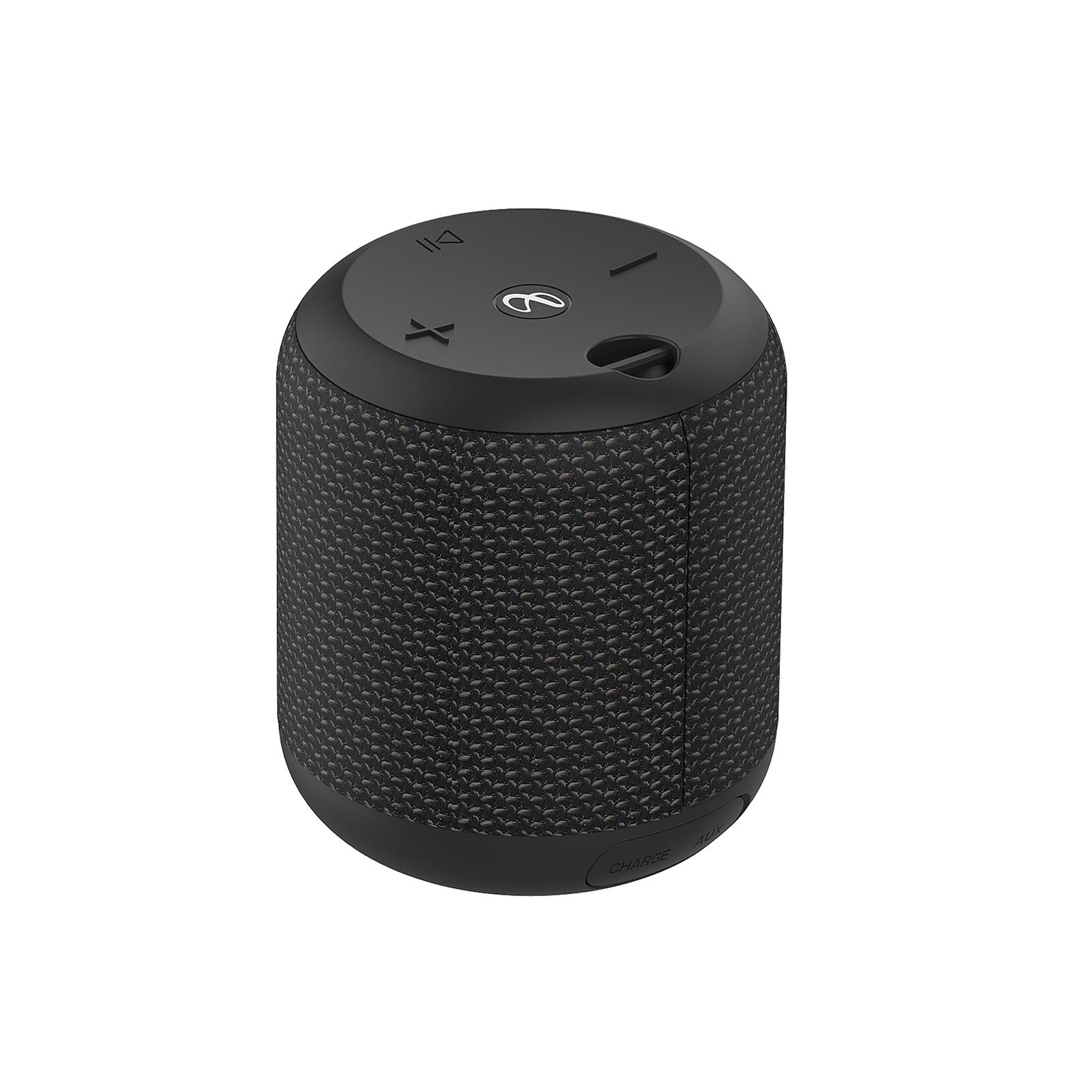 INFINITY FUZE 100 - Black - Portable Wireless Speaker - Back