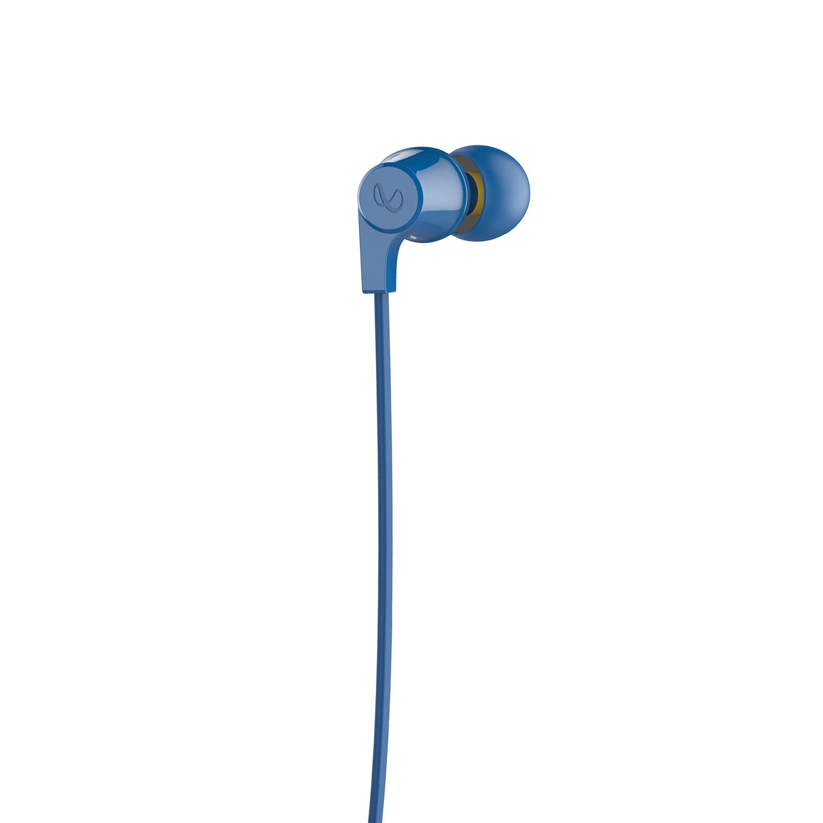 INFINITY GLIDE 105 - Blue - In-Ear Wireless Headphones - Back