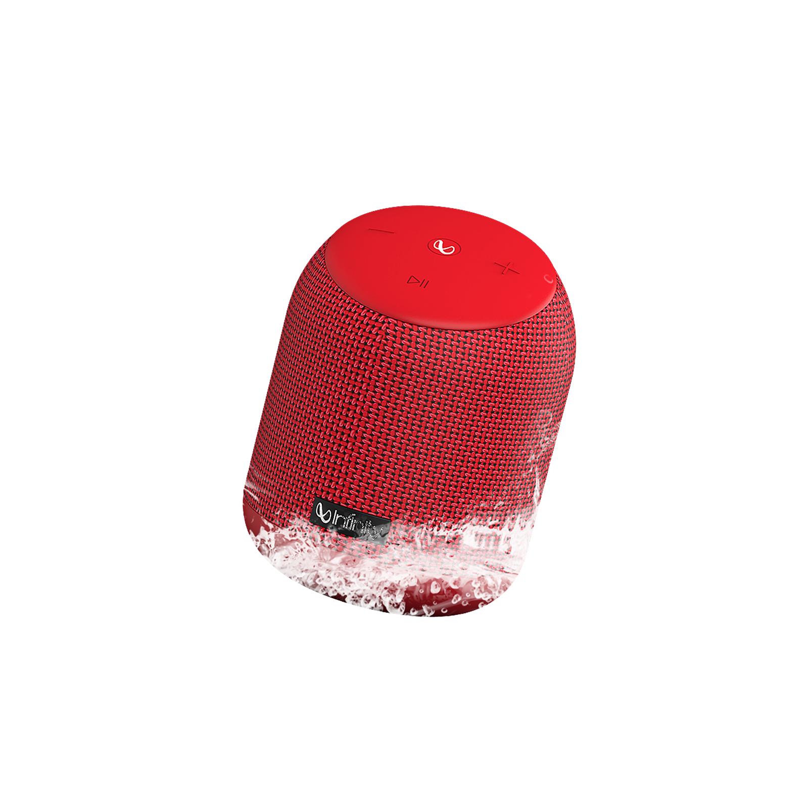 INFINITY FUZE 200 - Red - Portable Wireless Speakers - Hero