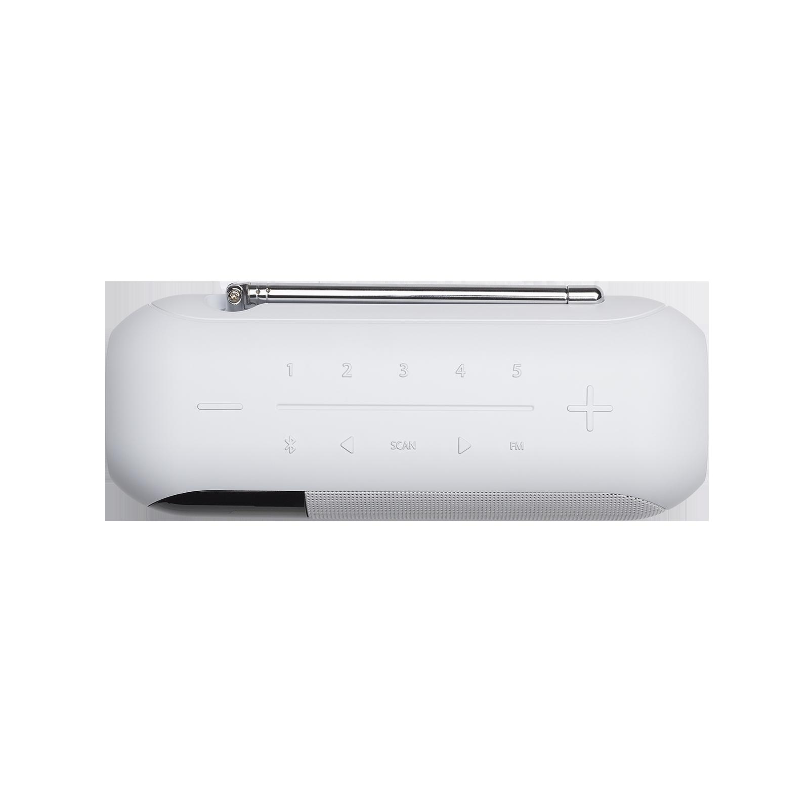 JBL Tuner 2 FM - White - Portable FM radio with Bluetooth - Detailshot 2