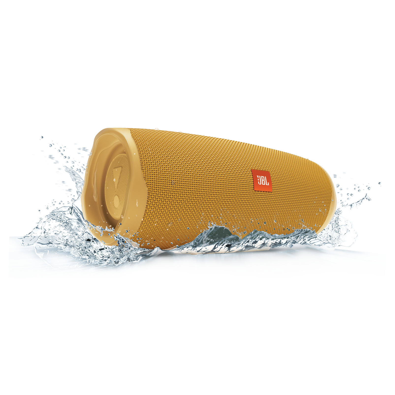 JBL Charge 4 - Mustard Yellow - Portable Bluetooth speaker - Detailshot 5