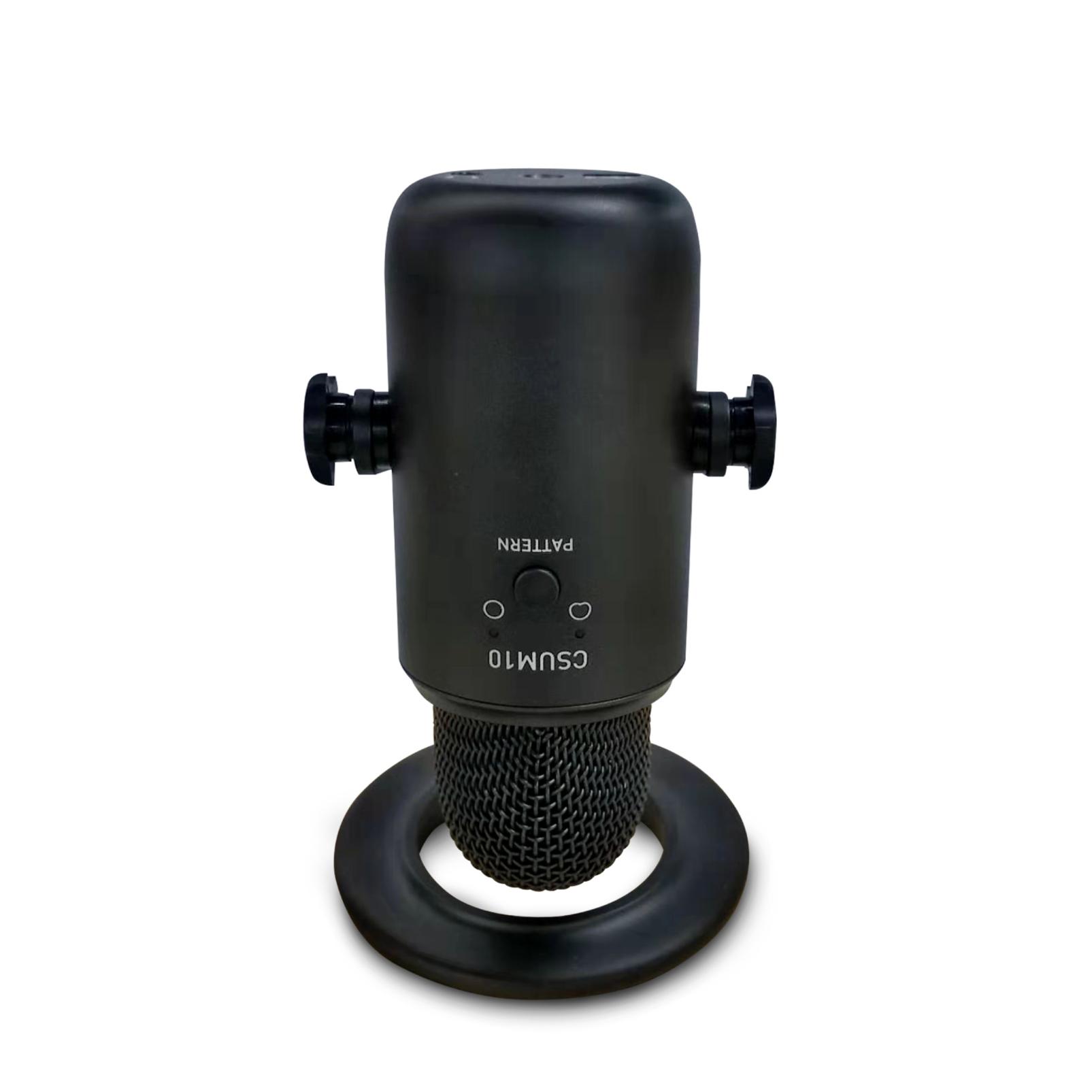 JBLCSUM10 - Black - Compact USB Microphone - Detailshot 4