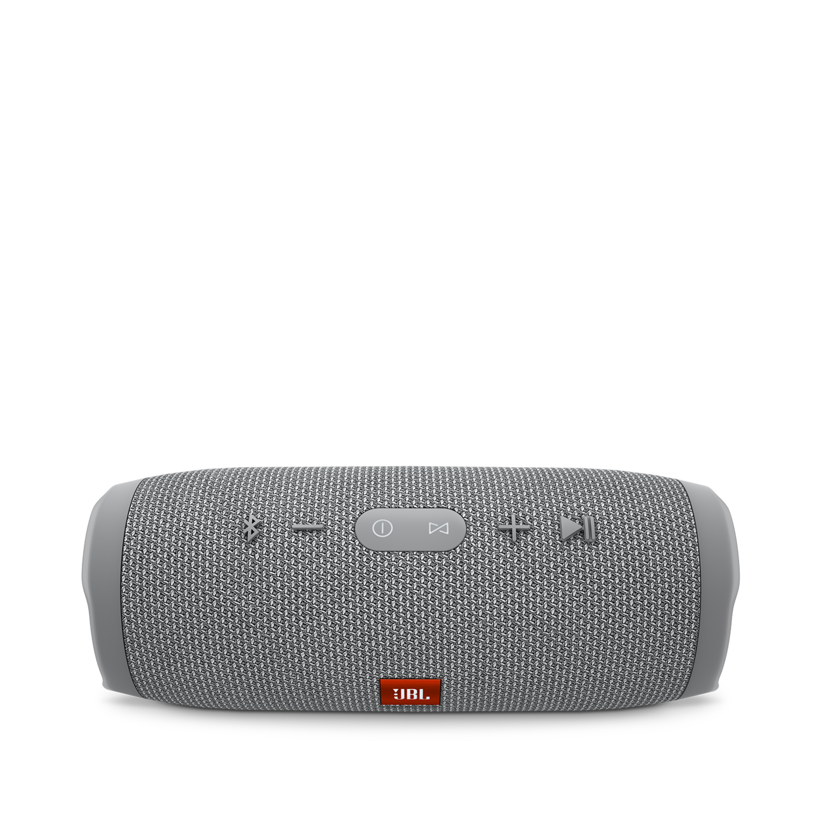 JBL Charge 3 - Grey - Full-featured waterproof portable speaker with high-capacity battery to charge your devices - Detailshot 2