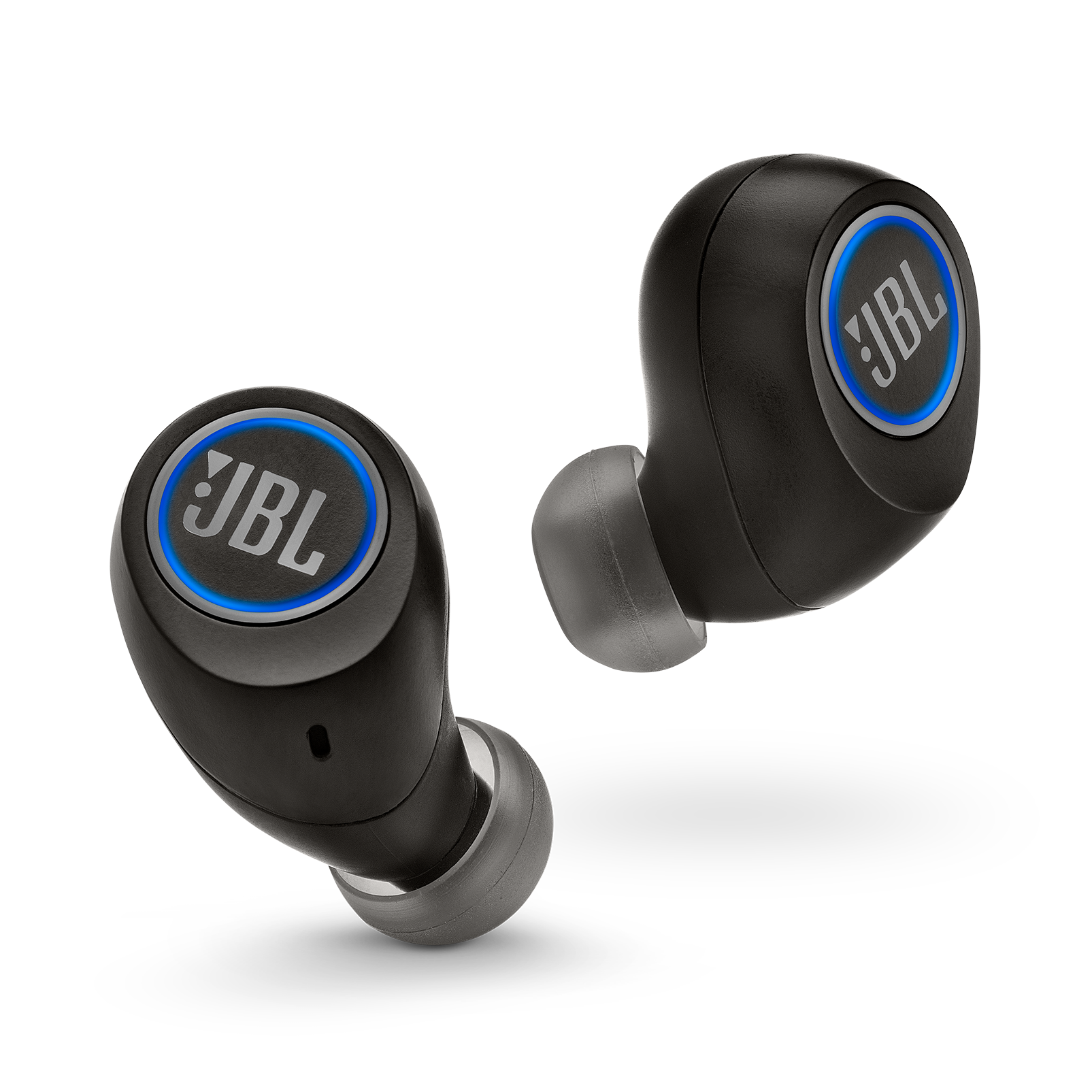 JBL Free X - Black - True wireless in-ear headphones - Front