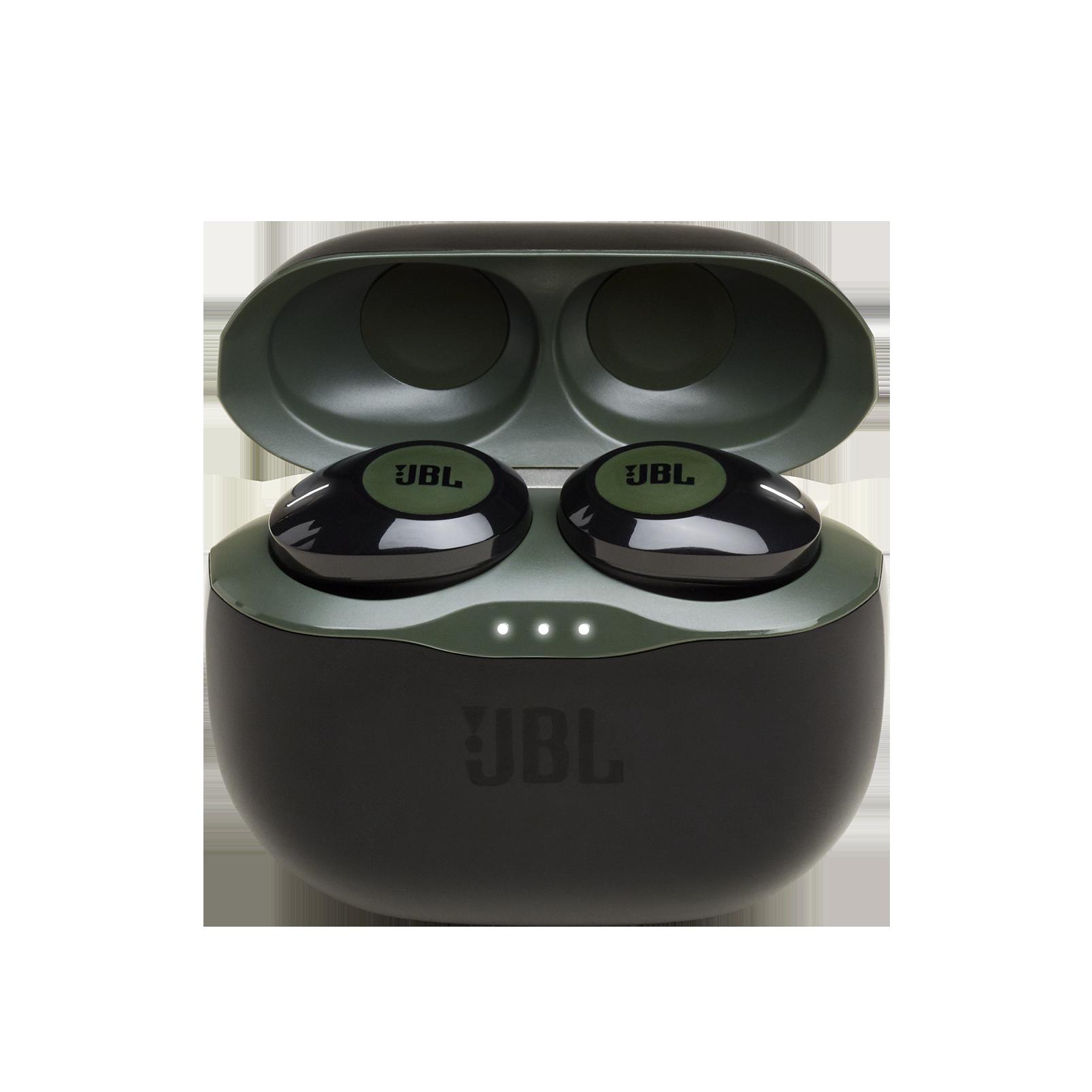 JBL TUNE 120TWS - Green - Truly wireless in-ear headphones. - Detailshot 2