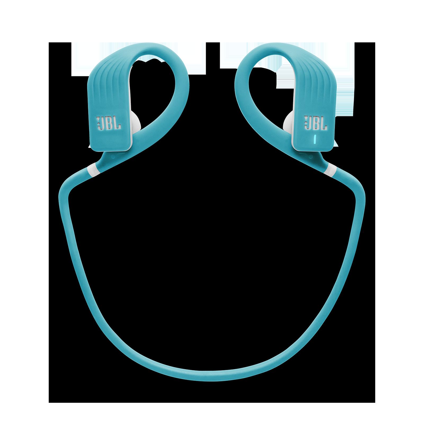 JBL Endurance JUMP - Teal - Waterproof Wireless Sport In-Ear Headphones - Detailshot 2