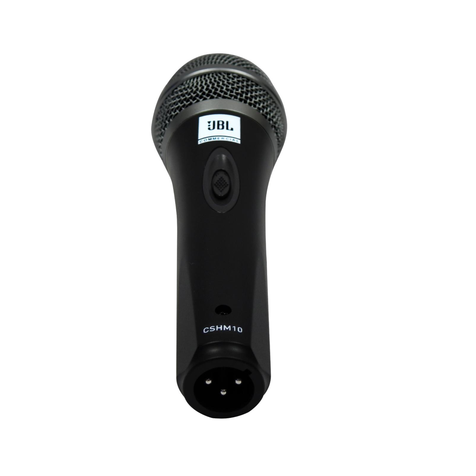 JBLCSHM10 - Black - Handheld Dynamic Vocal Microphone - Detailshot 2