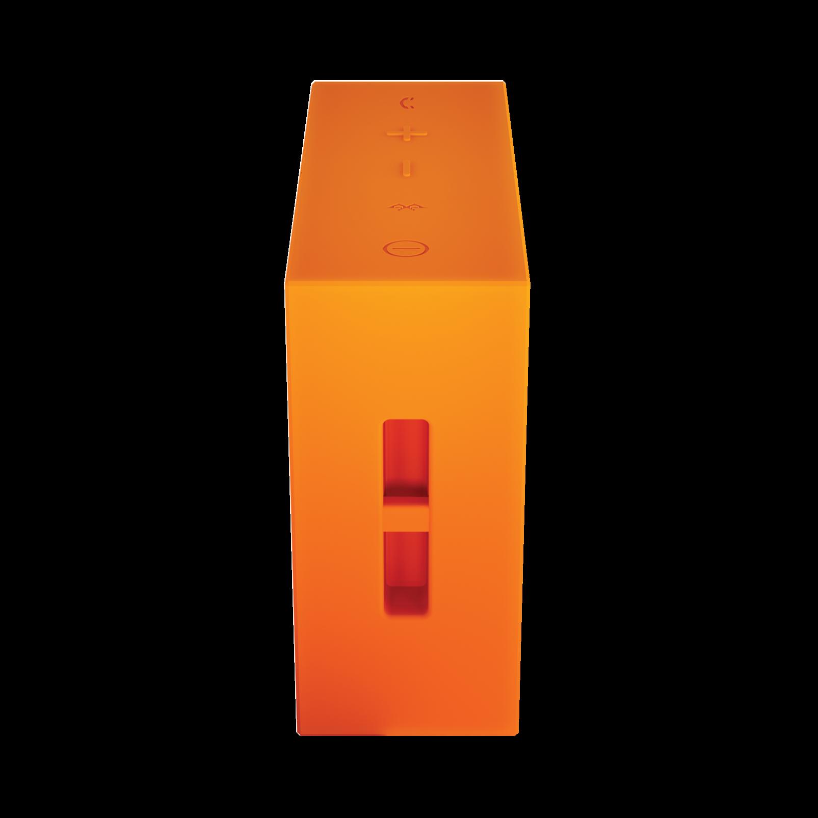 JBL GO - Orange - Full-featured, great-sounding, great-value portable speaker - Detailshot 2