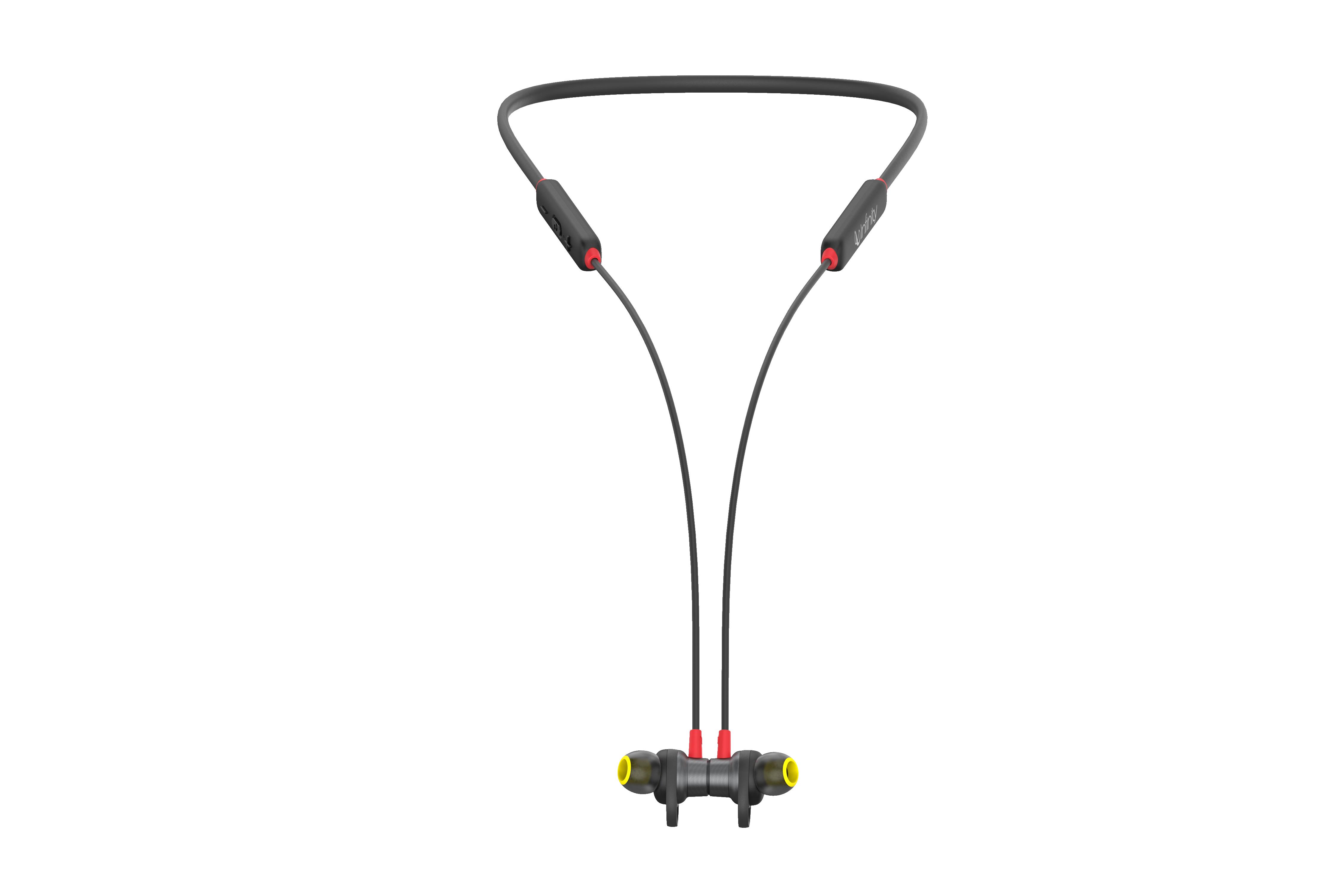 INFINITY GLIDE N120 - Black / Red - Back