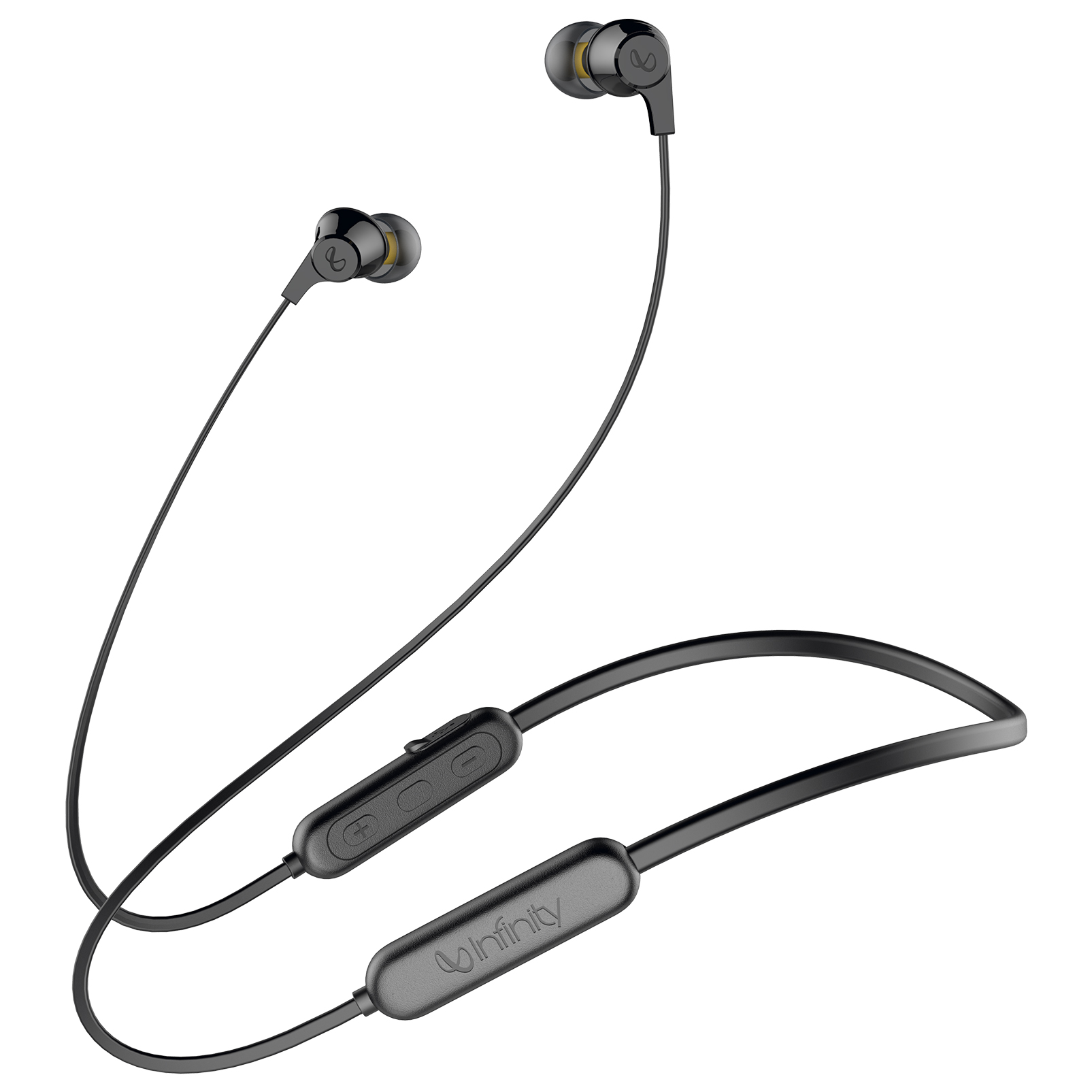INFINITY GLIDE N100 - Black - In-Ear Ultra Light Neckband - Hero