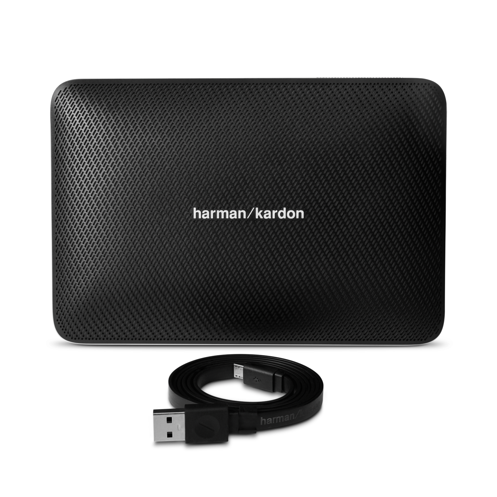Esquire 2 - Black - Premium portable Bluetooth speaker with quad microphone conferencing system - Detailshot 1