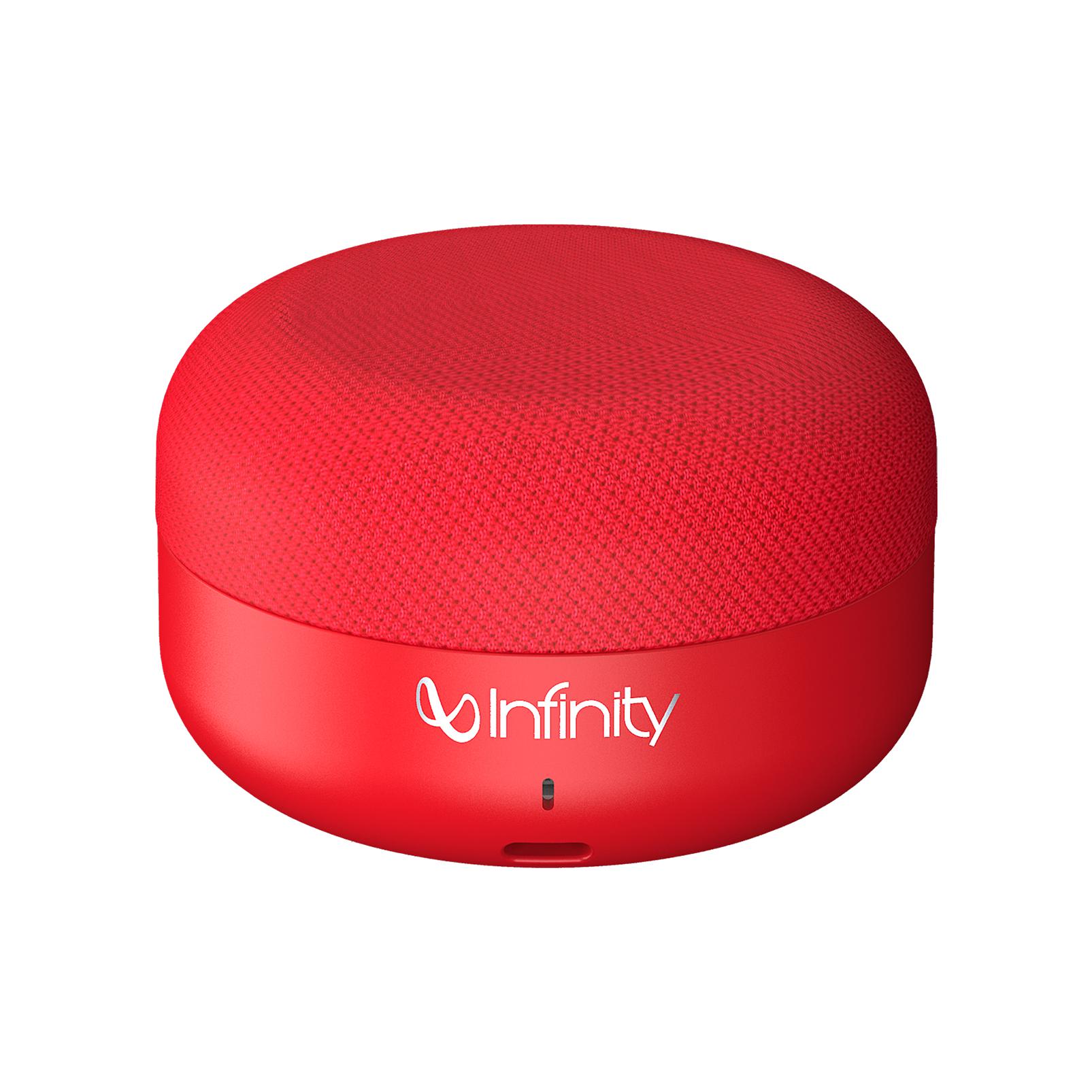 INFINITY FUZE PINT - Red - Portable Wireless Speakers - Hero