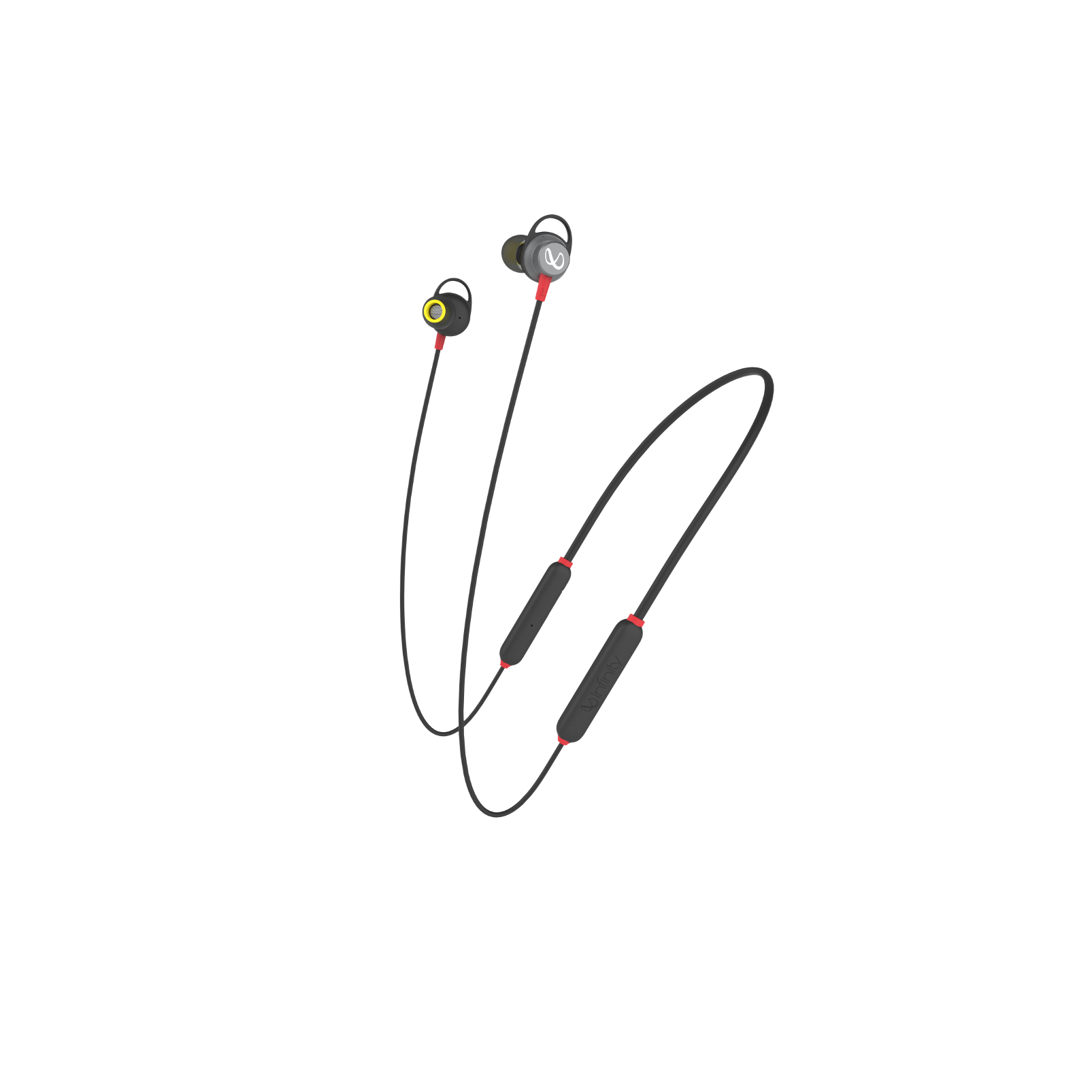 INFINITY GLIDE 120 - Black / Red - Back