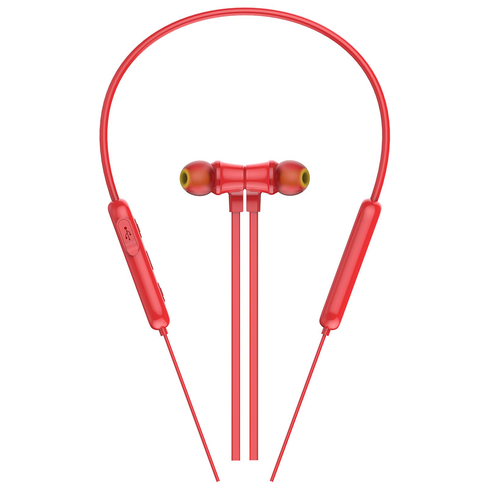 INFINITY GLIDE N100 - Red - In-Ear Ultra Light Neckband - Detailshot 1