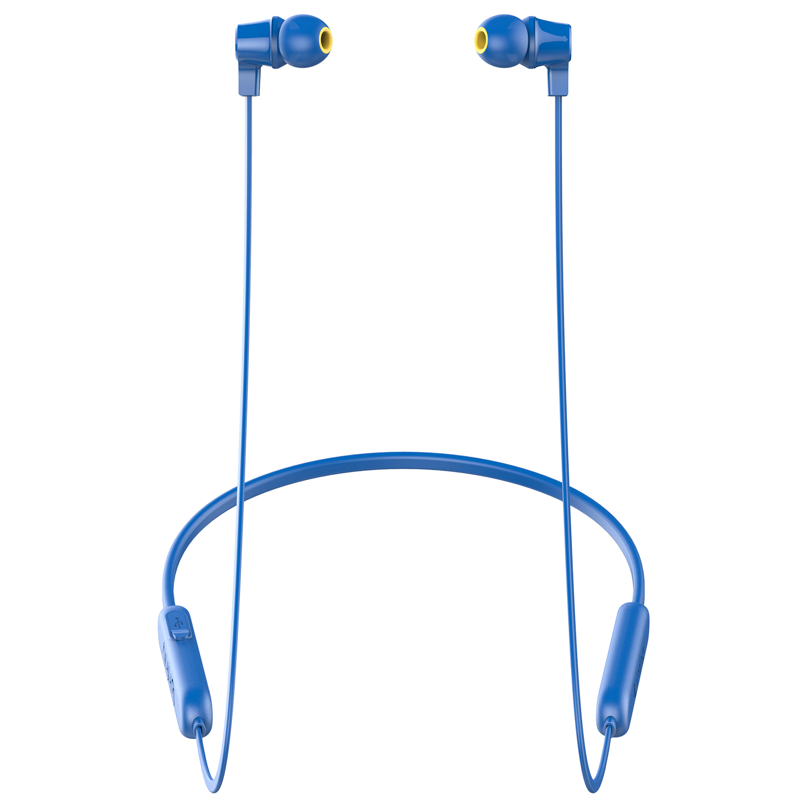 INFINITY GLIDE N100 - Blue - In-Ear Ultra Light Neckband - Left