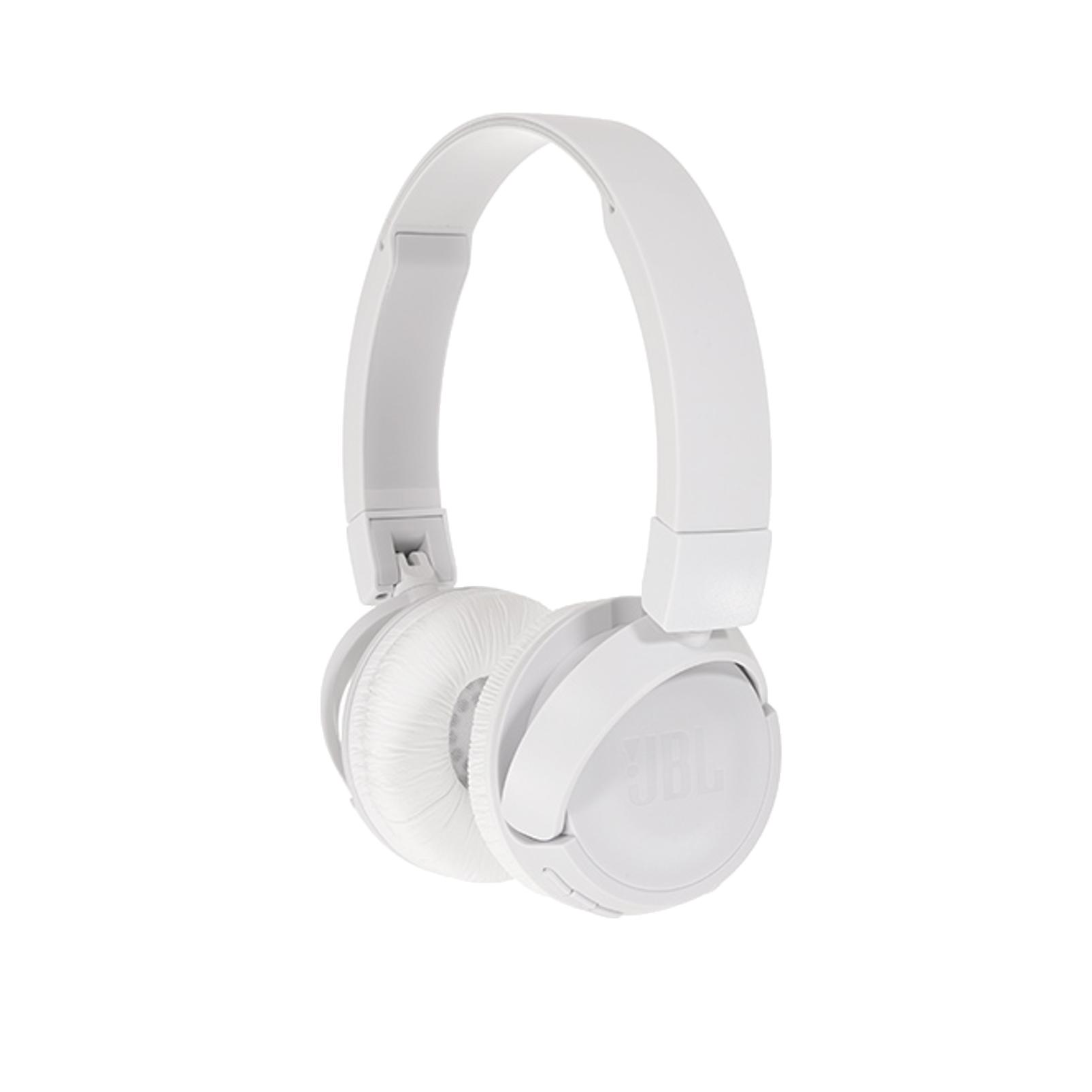 JBL T460BT - White - Wireless on-ear headphones - Hero