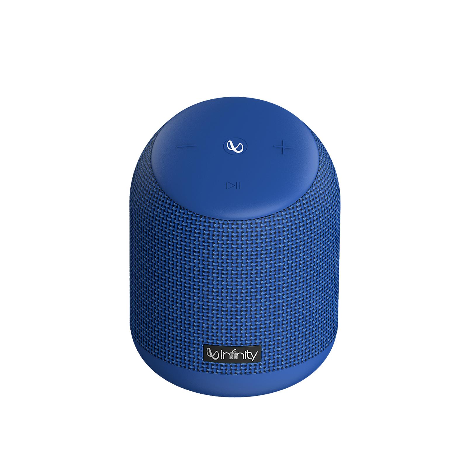 INFINITY FUZE 200 - Blue - Portable Wireless Speakers - Front