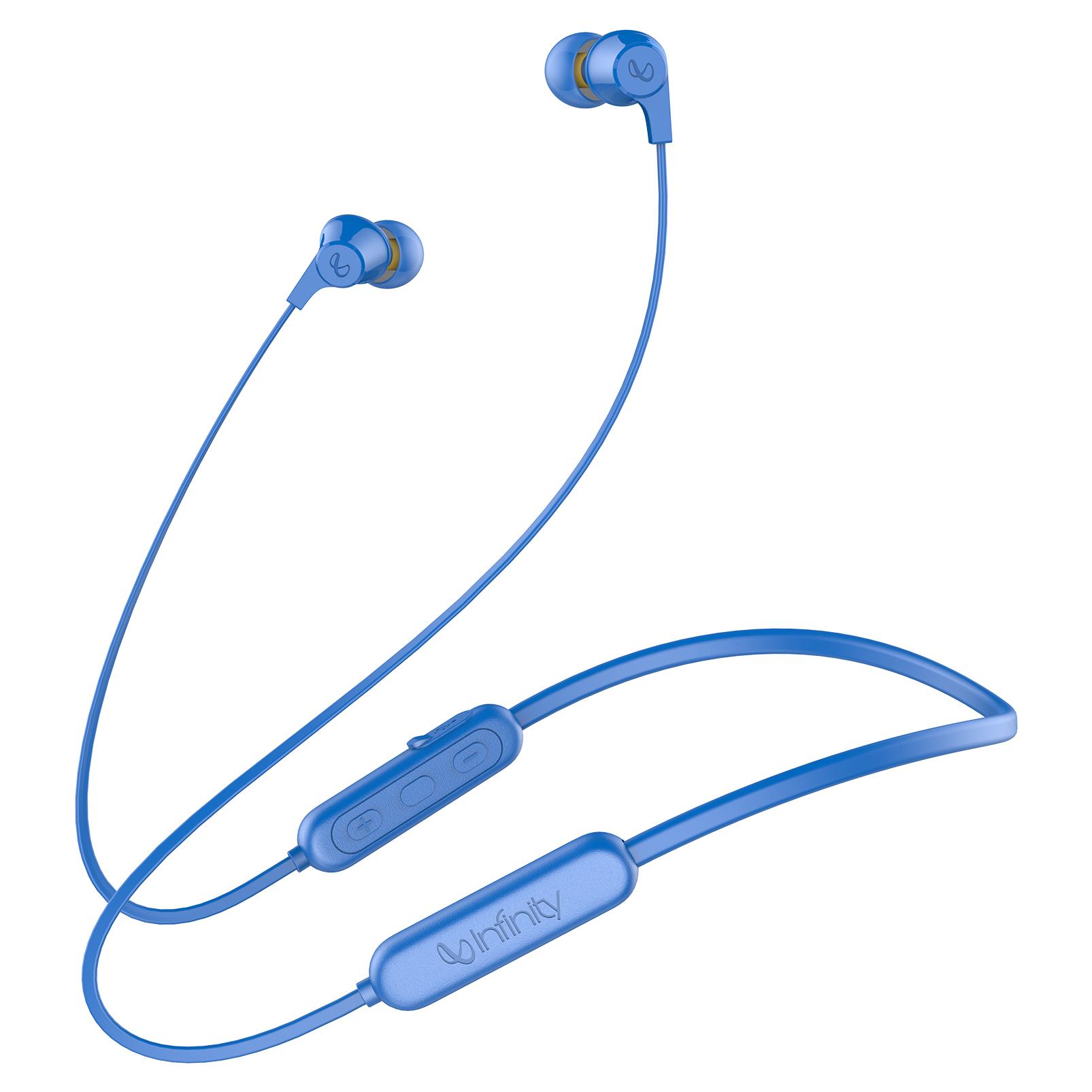 INFINITY GLIDE N100 - Blue - In-Ear Ultra Light Neckband - Hero