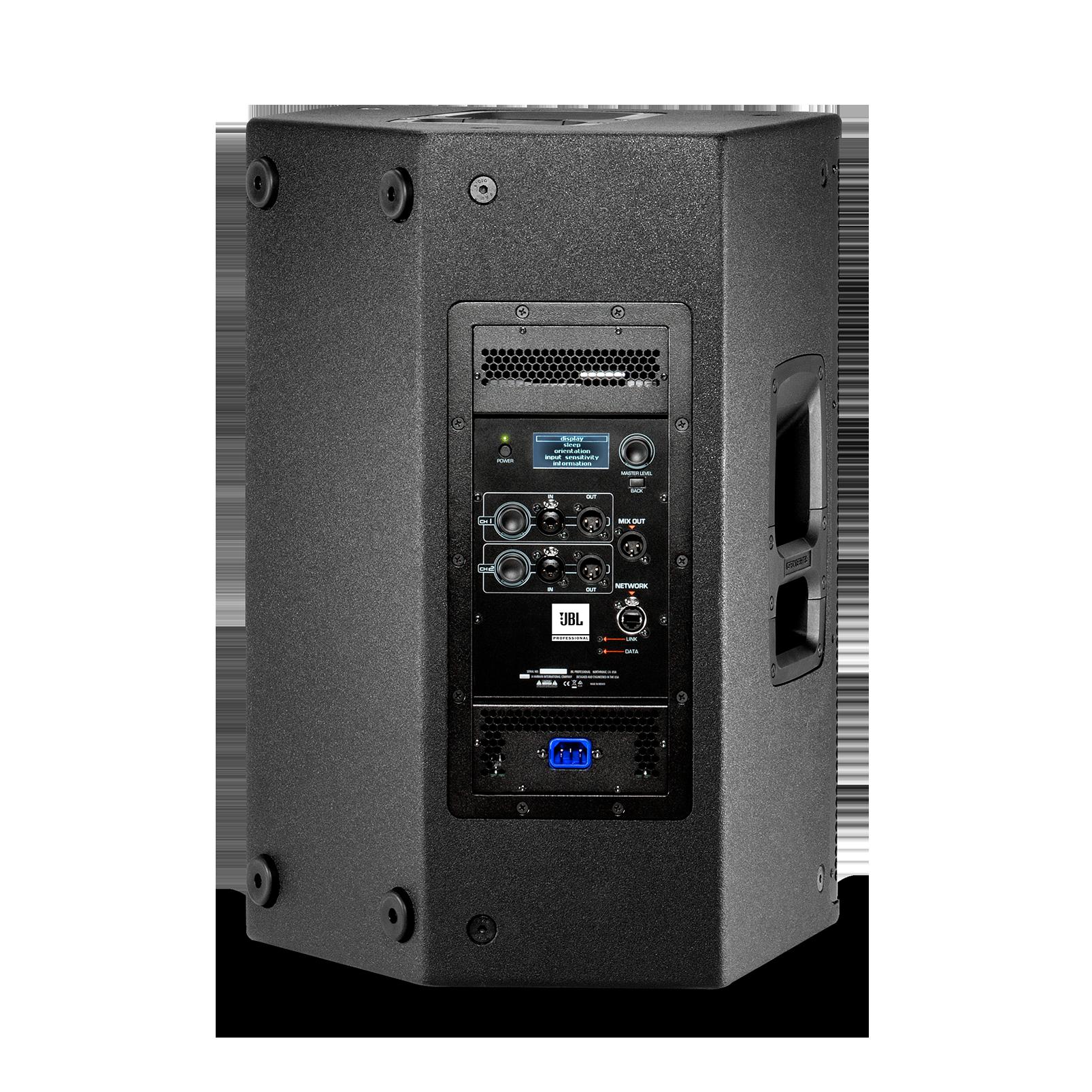 """JBL SRX812P - Black - 12"""" Two-Way Bass Reflex Self-Powered System - Back"""