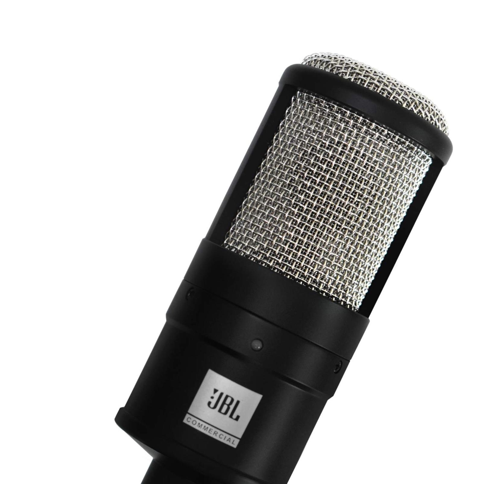 CSSM100 - Black - Studio Condenser Microphone - Detailshot 1