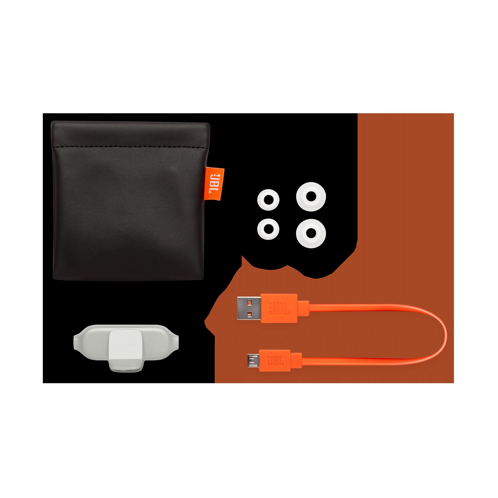 E25BT - White - Wireless in-ear headphones - Detailshot 4