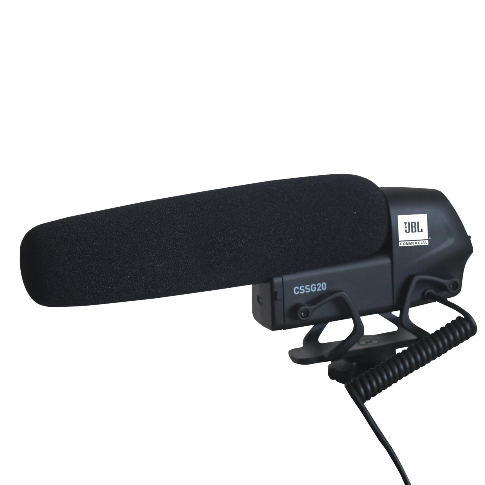 CSSG20 - Black - On-Camera Shotgun Microphone - Detailshot 3