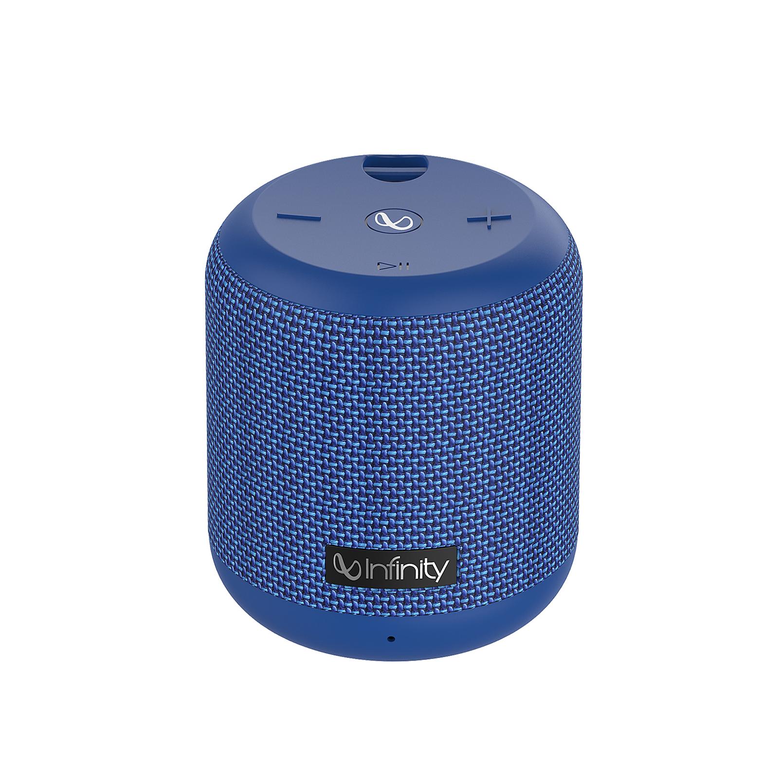 INFINITY FUZE 100 - Blue - Portable Wireless Speaker - Front