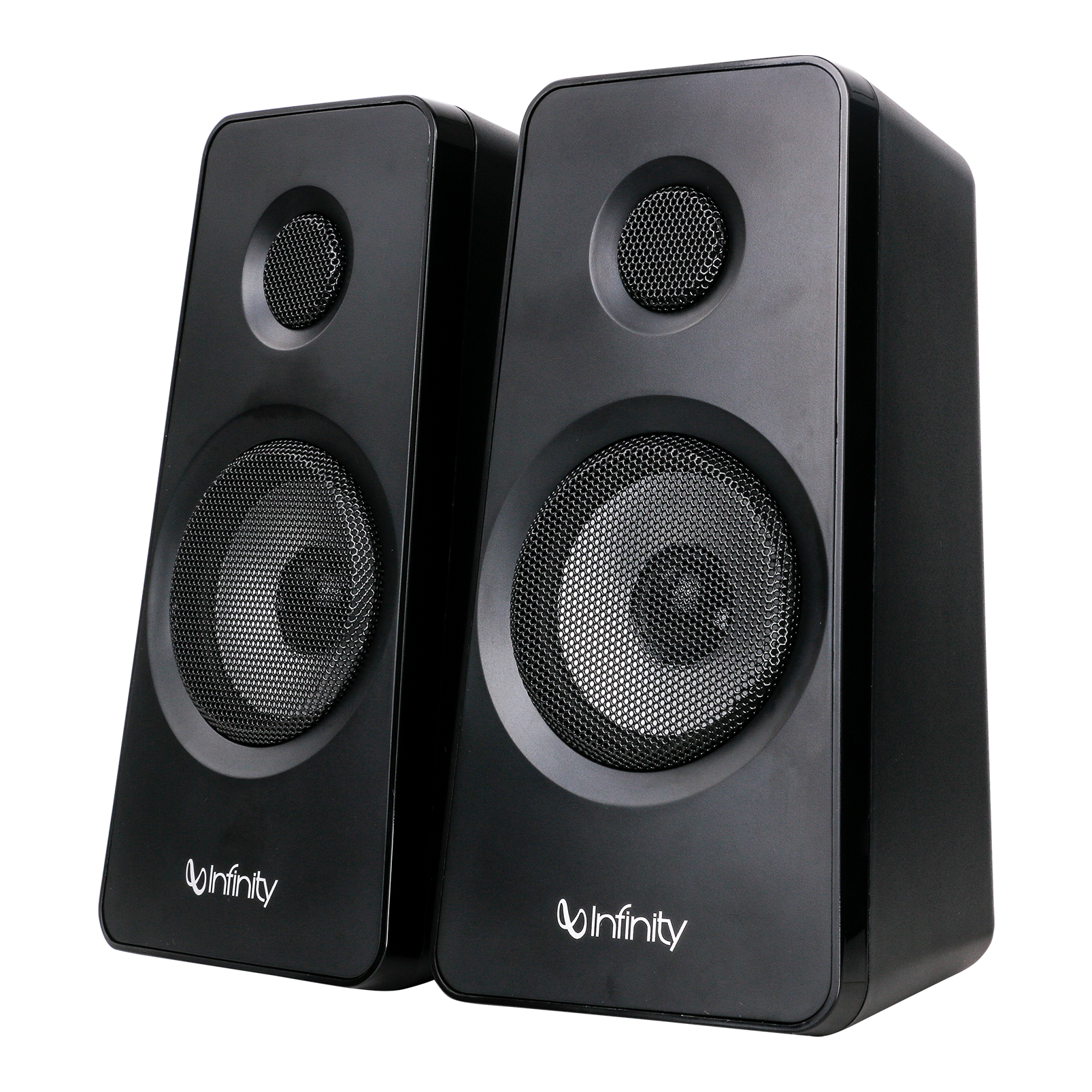 INFINITY HARDROCK 210 - Black - Multimedia Speakers - Left