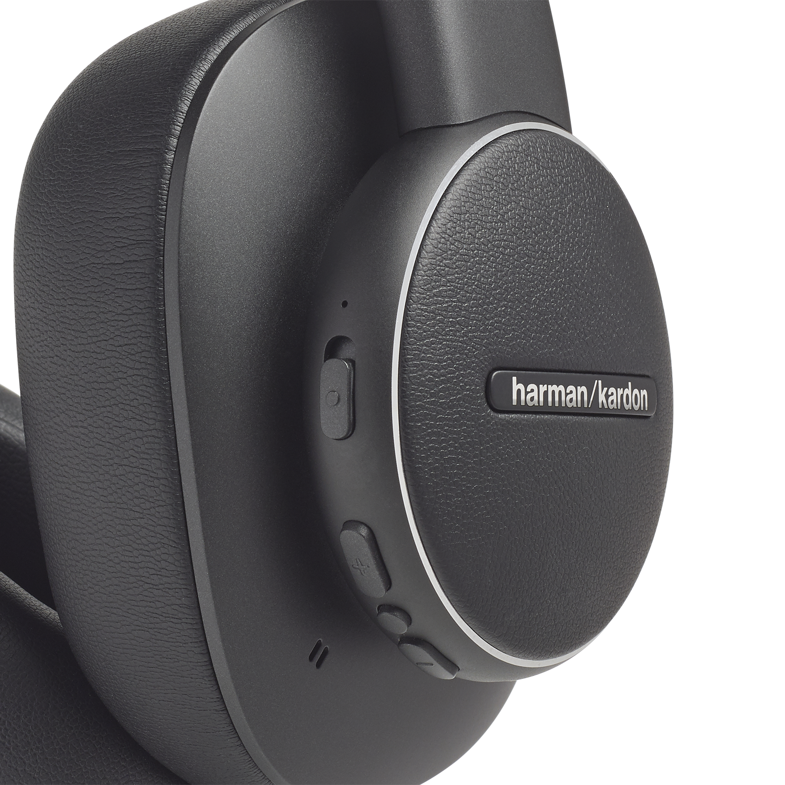 Harman Kardon FLY ANC - Black - Wireless Over-Ear NC Headphones - Detailshot 1