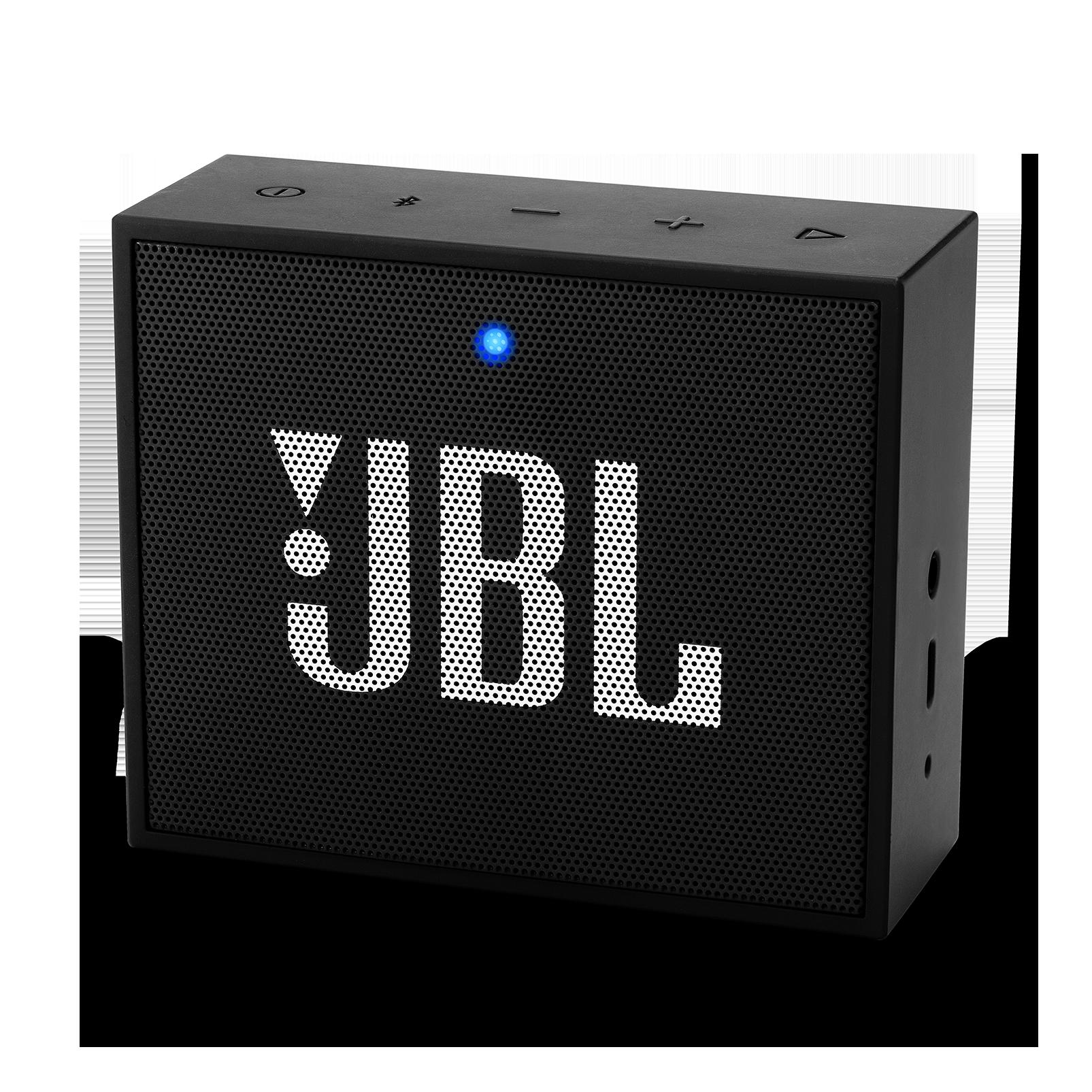 JBL GO+ - Black - Portable Bluetooth® Speaker - Hero