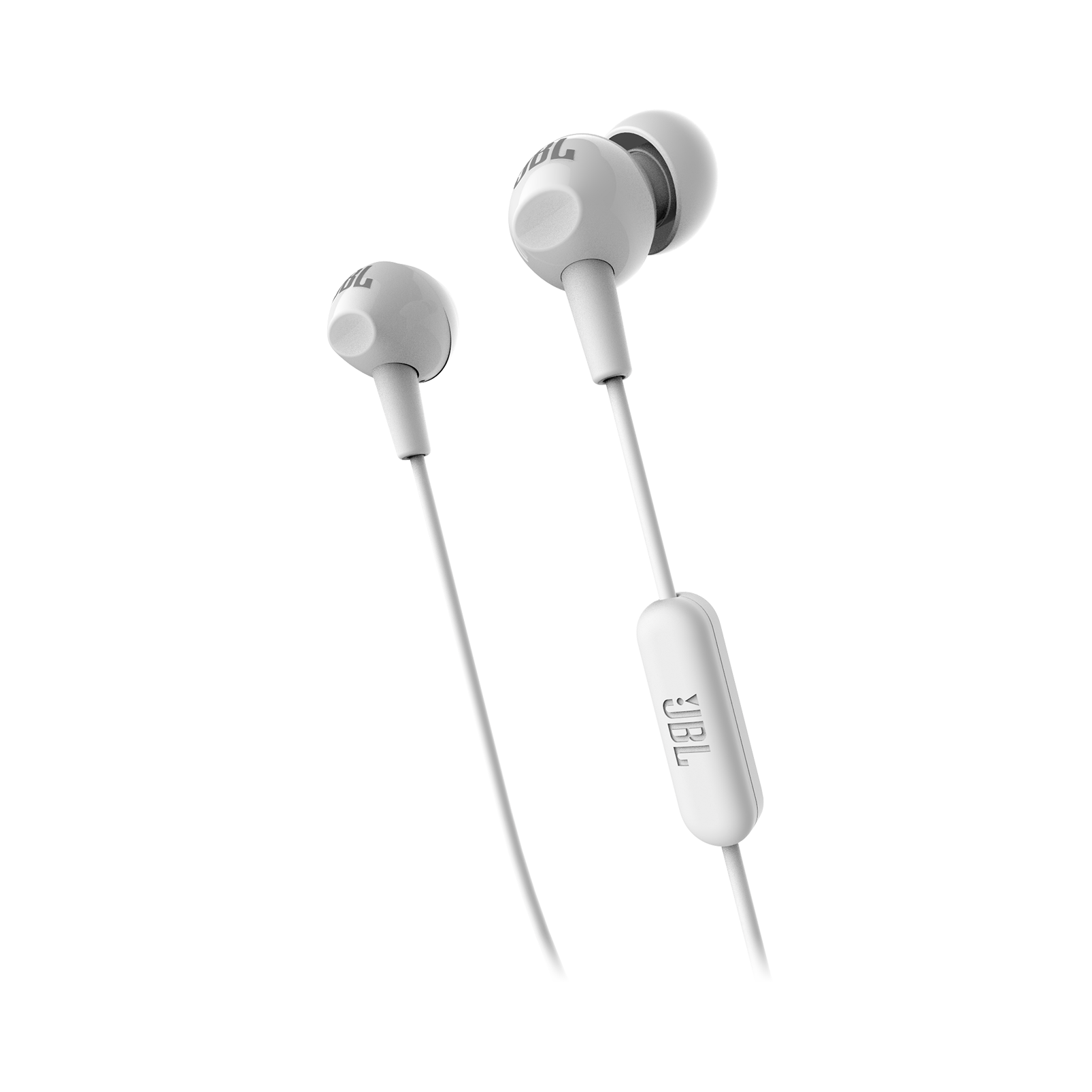 C150SI - White - JBL C150SI In Ear Headphones - Detailshot 1