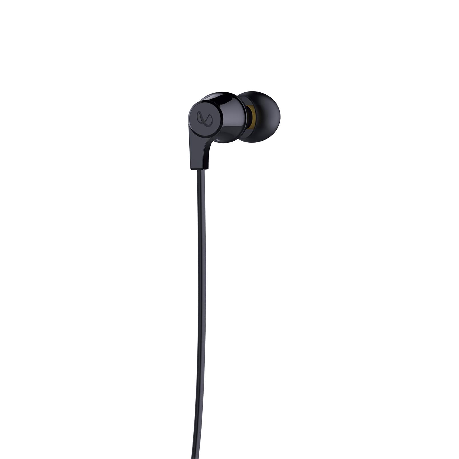 INFINITY GLIDE 105 - Black - In-Ear Wireless Headphones - Back