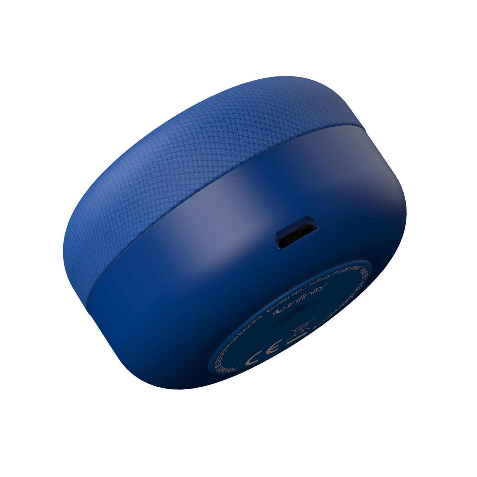 INFINITY FUZE PINT - Blue - Portable Wireless Speakers - Front