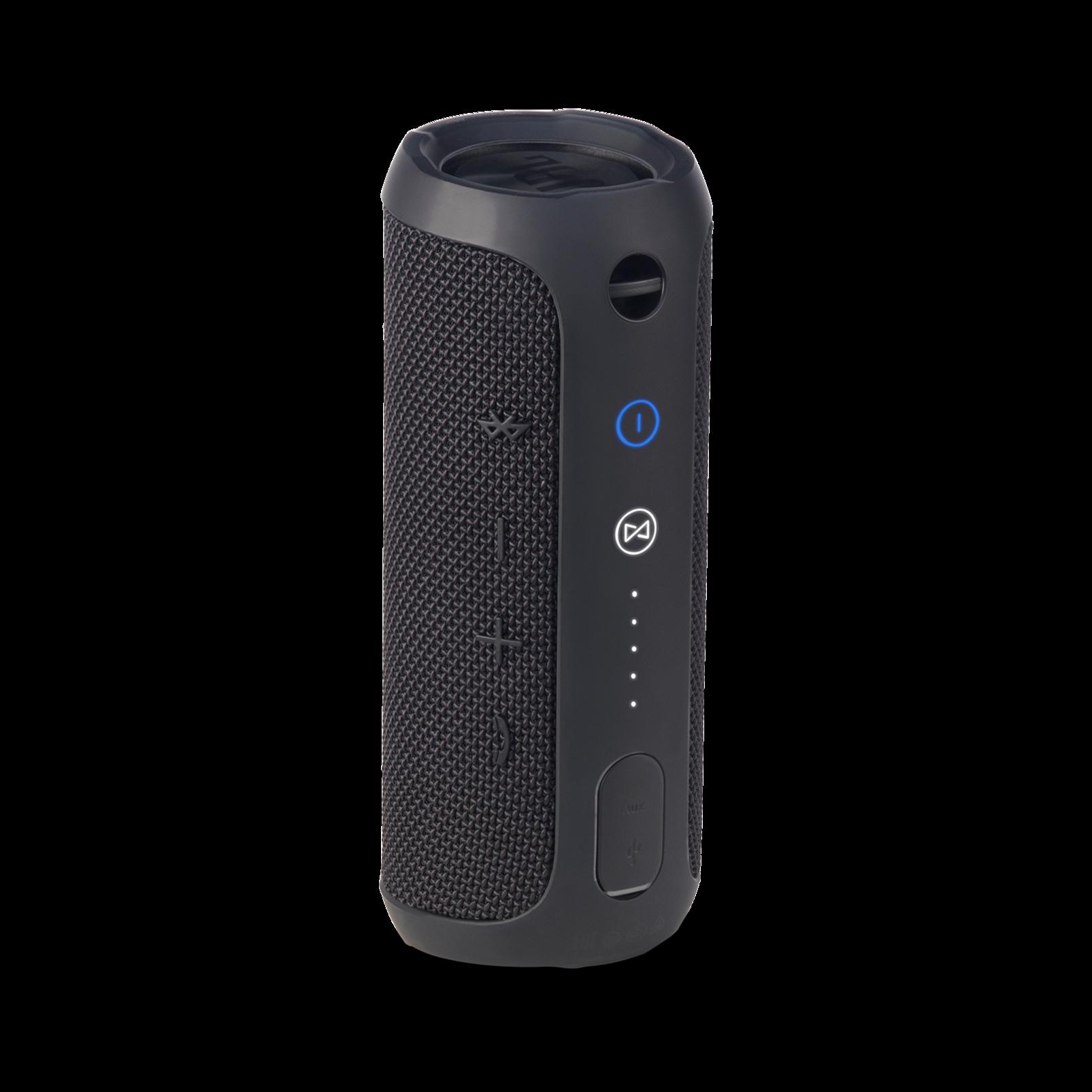 JBL Flip 3 - Black - Splashproof portable Bluetooth speaker with powerful sound and speakerphone technology - Back