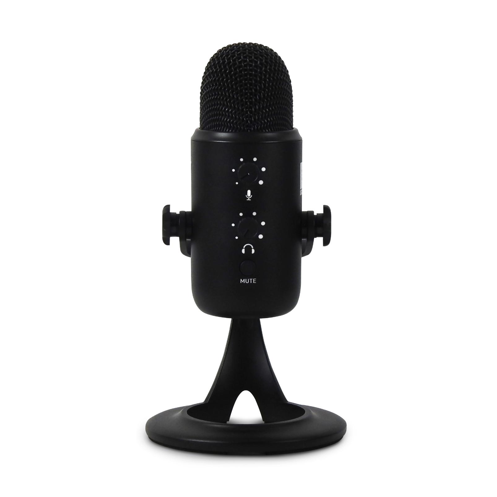 JBLCSUM10 - Black - Compact USB Microphone - Hero