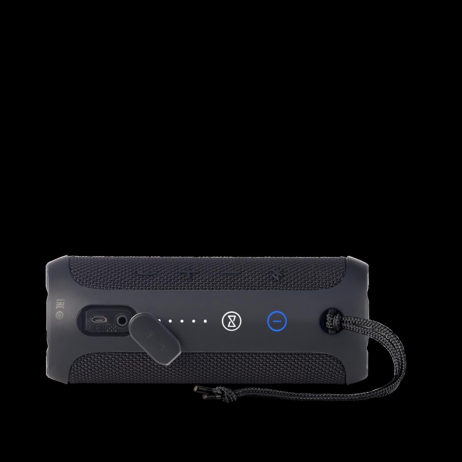 JBL Flip 3 - Black - Splashproof portable Bluetooth speaker with powerful sound and speakerphone technology - Detailshot 3