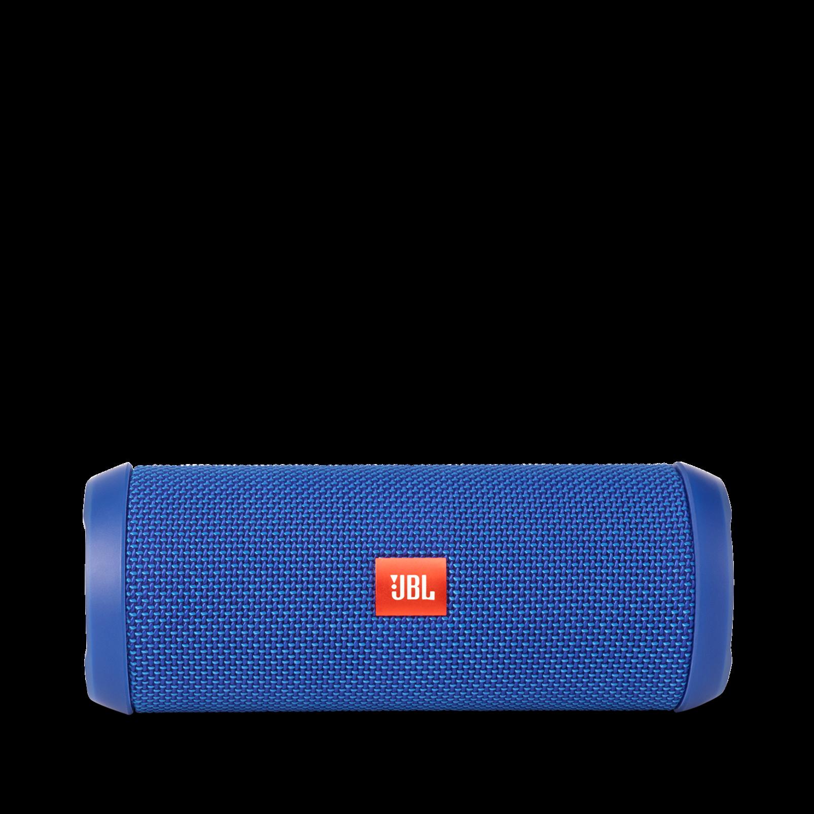 JBL Flip 3 - Blue - Splashproof portable Bluetooth speaker with powerful sound and speakerphone technology - Front
