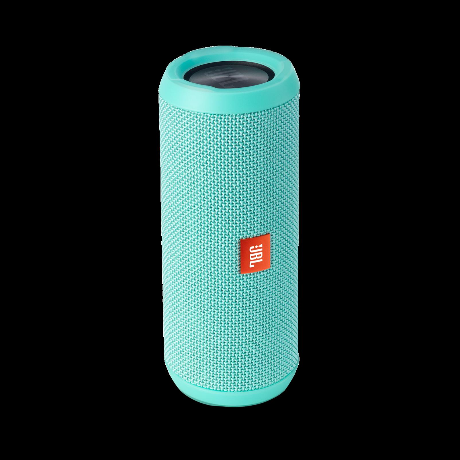 JBL Flip 3 - Teal - Splashproof portable Bluetooth speaker with powerful sound and speakerphone technology - Detailshot 2